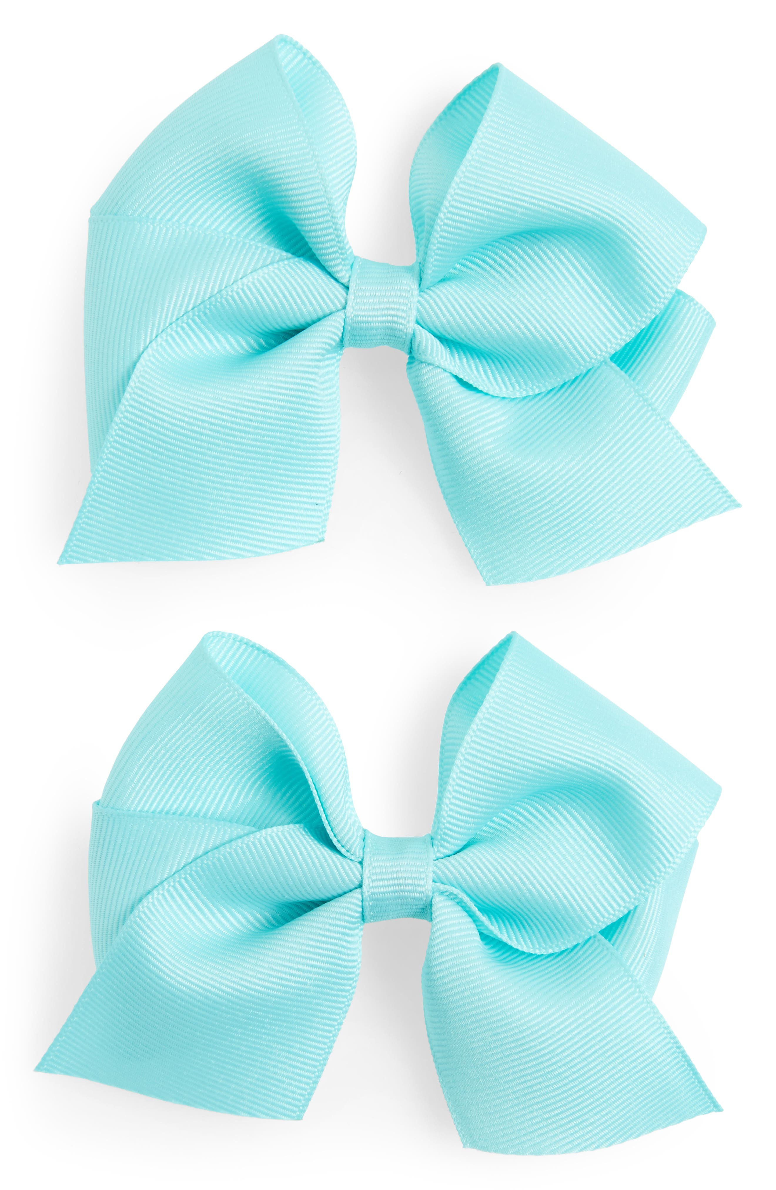 PLH Bows & Laces Bow Clips (Set of 2) (Baby Girls)