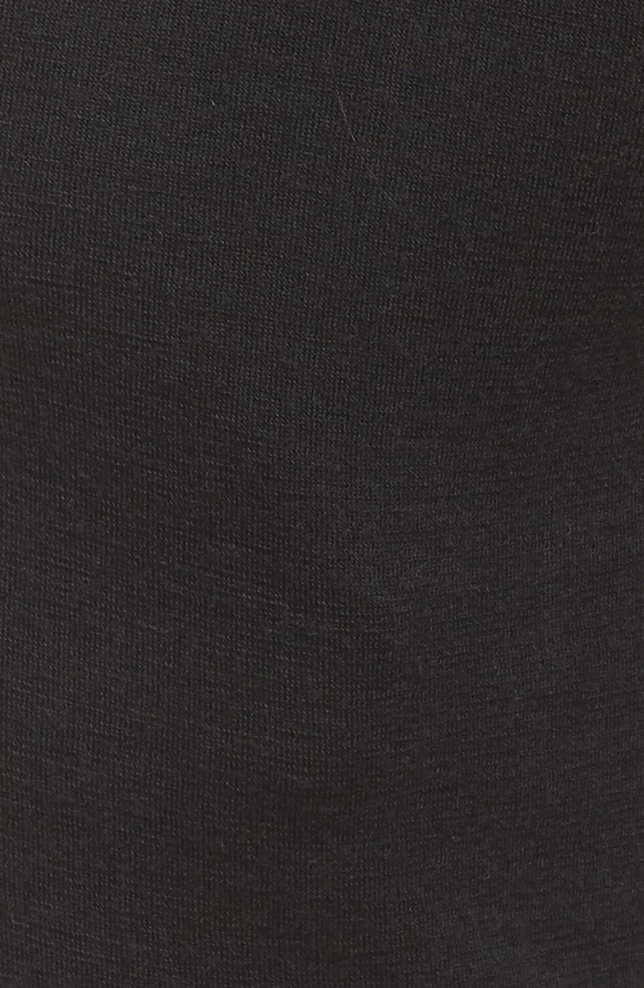 Lizy Track Pants,                             Alternate thumbnail 7, color,                             Black