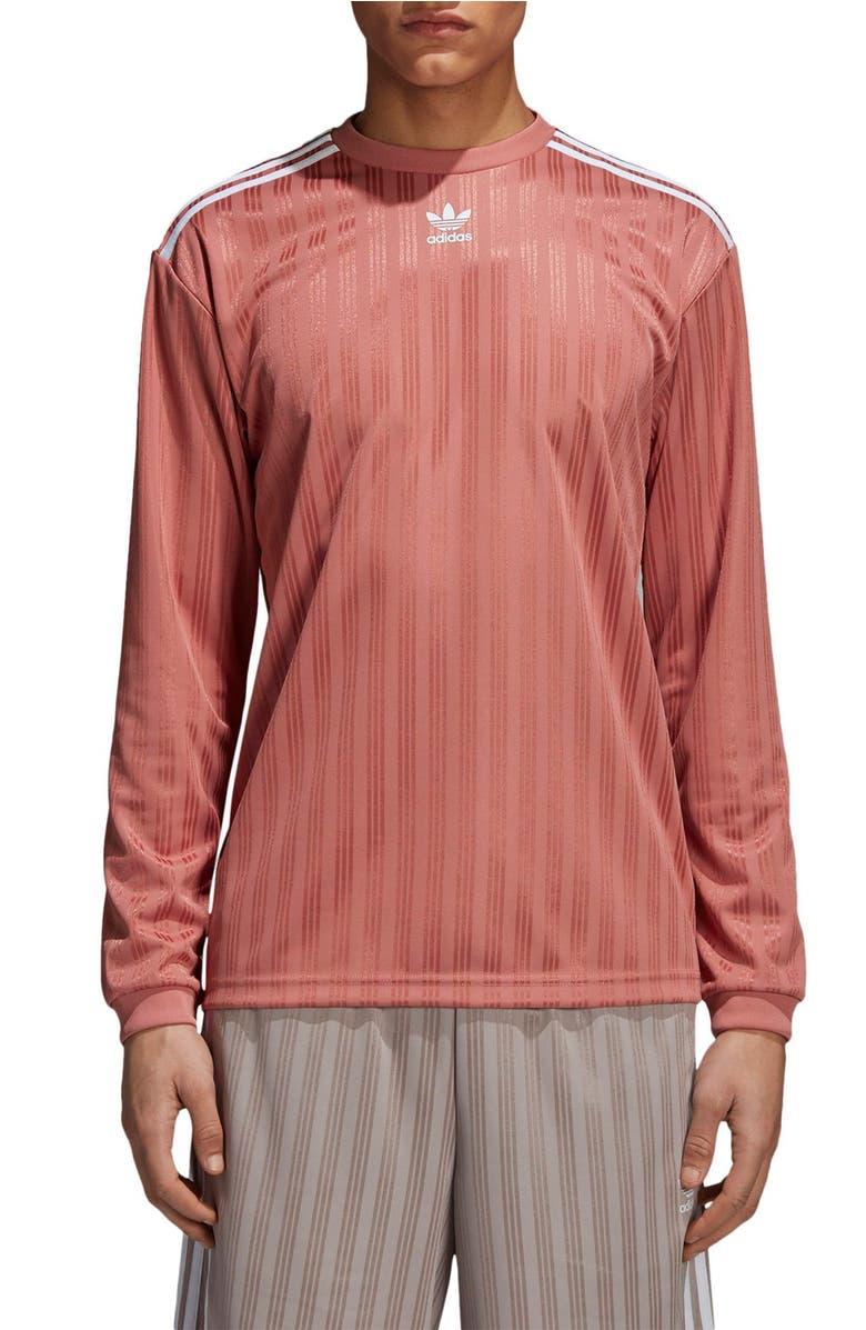 5b5b5a5a692 Adidas Originals Long Sleeve Jersey Shirt In Ash Pink | ModeSens
