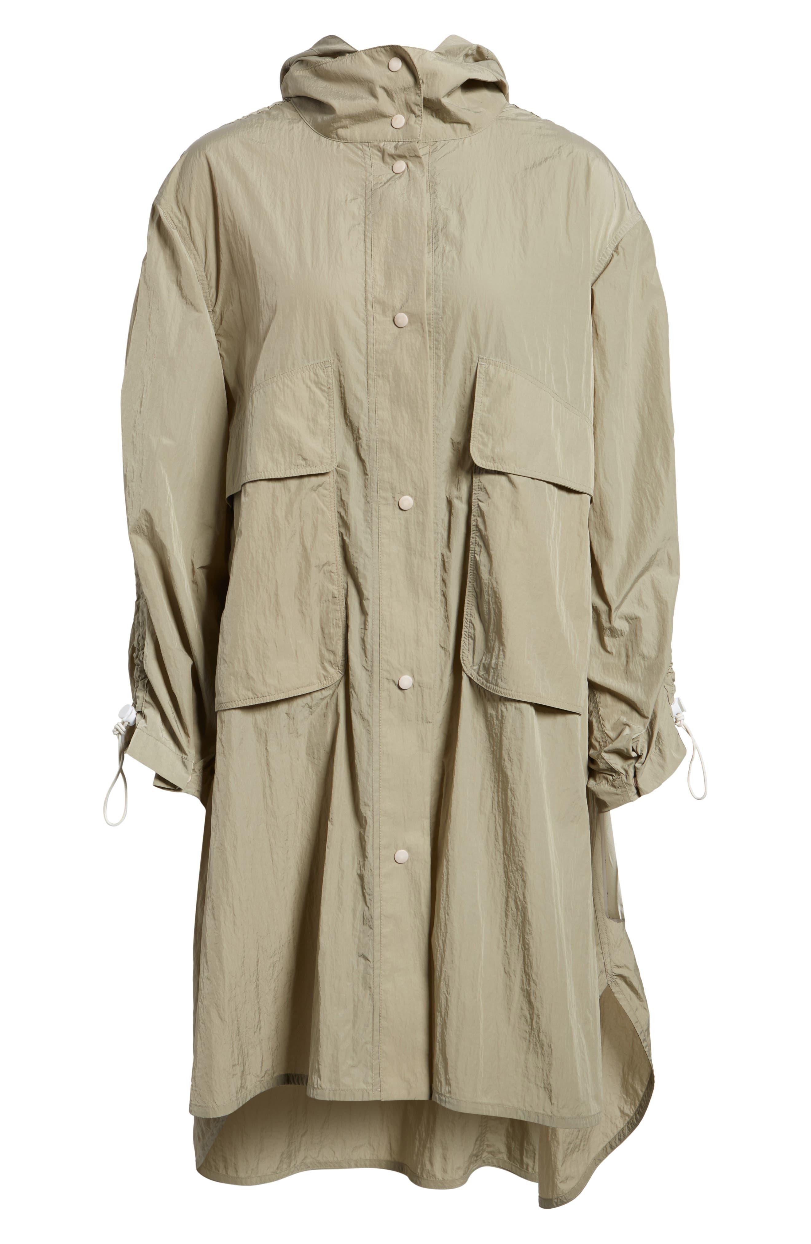 Florence Hooded Jacket,                             Alternate thumbnail 6, color,                             Dune