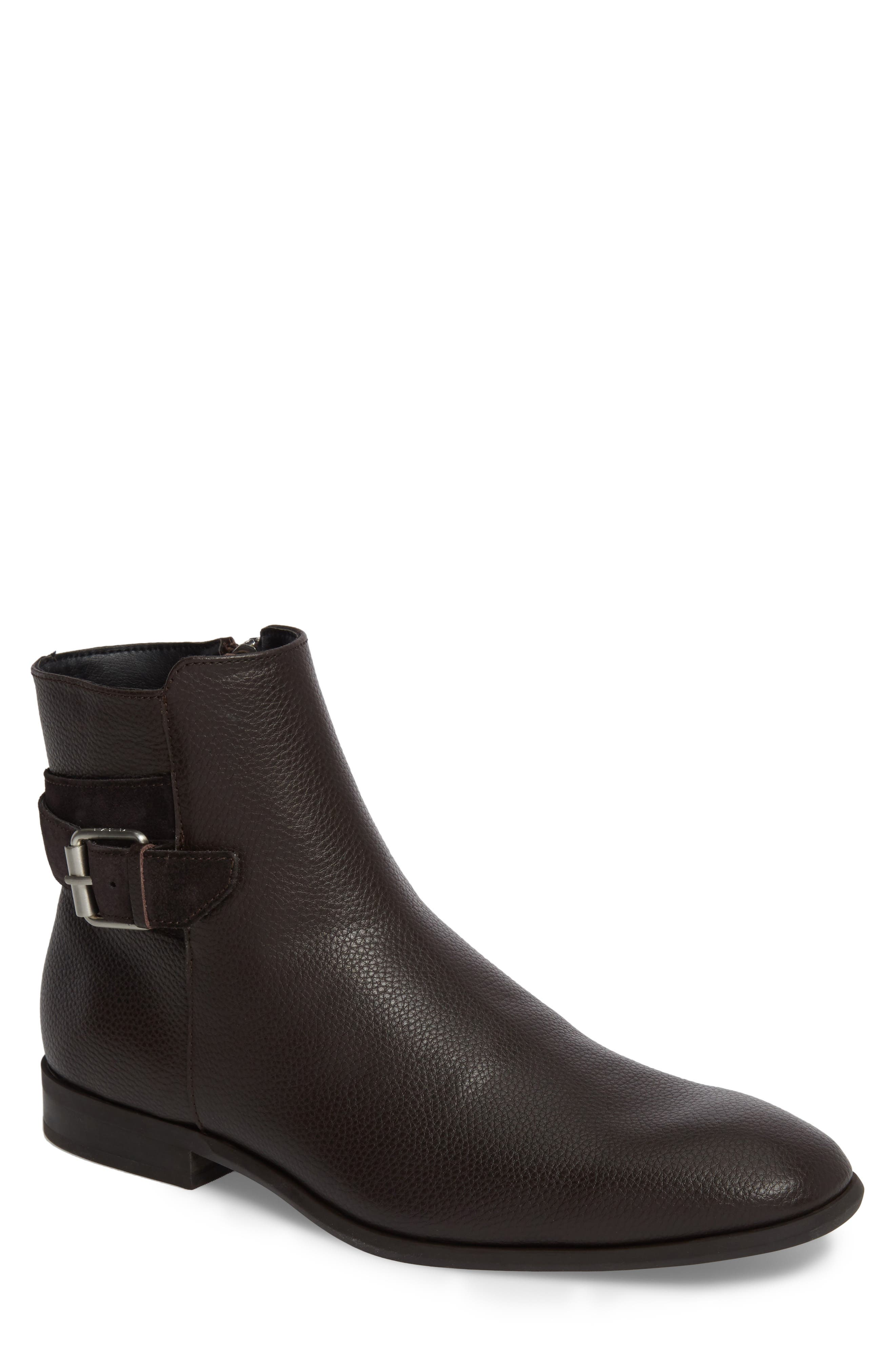 Calvin Klein Lorenzo Buckle Boot (Men)