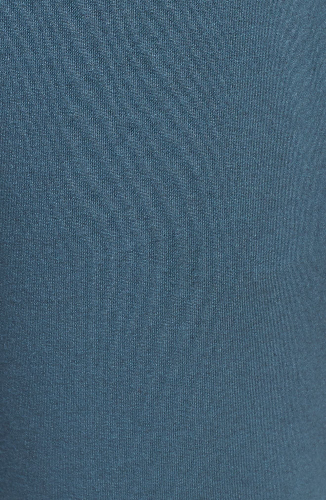 French Terry Sweatpants,                             Alternate thumbnail 6, color,                             Royal Teal