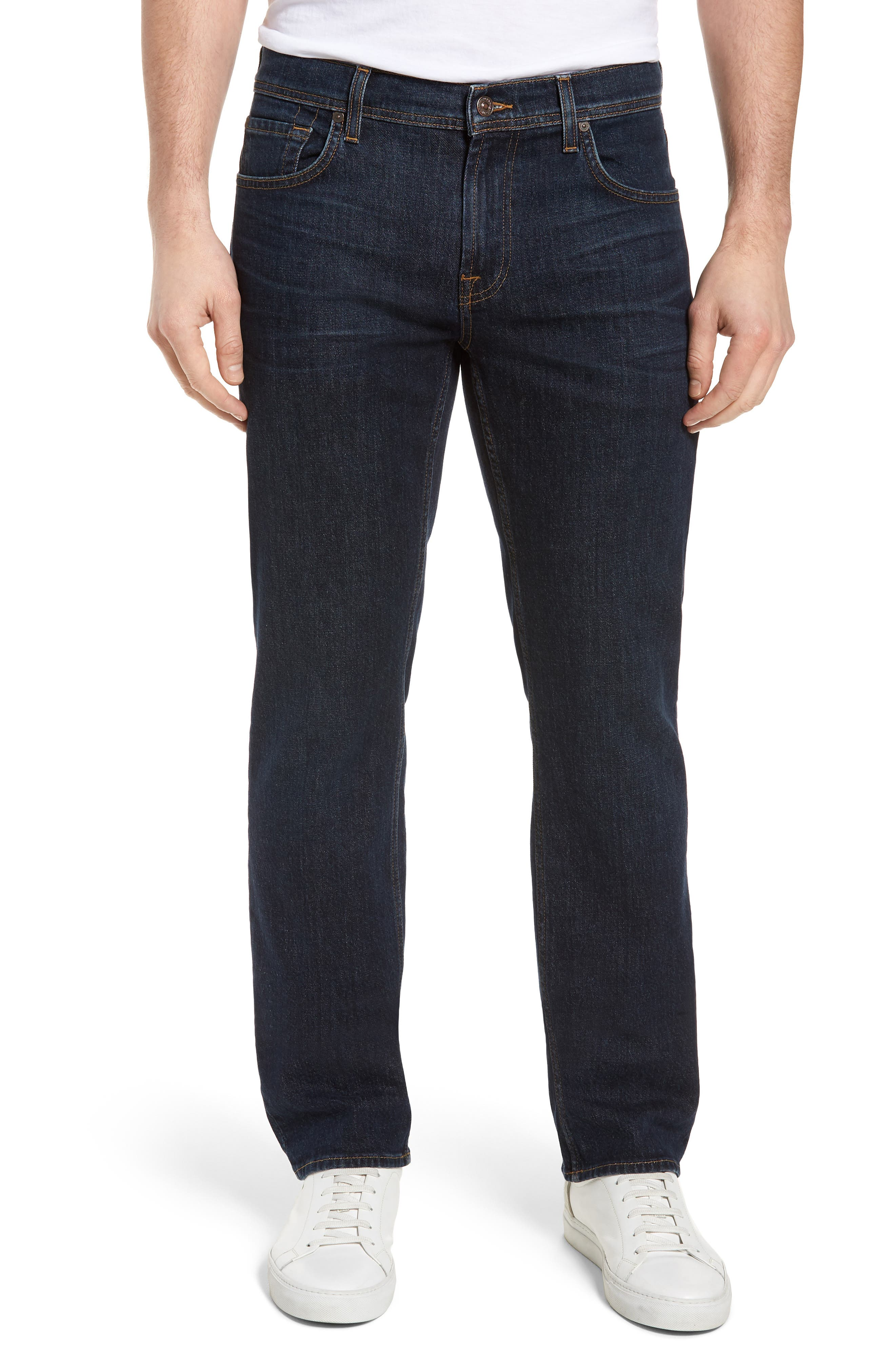 Standard Straight Leg Jeans,                         Main,                         color, Forfeit