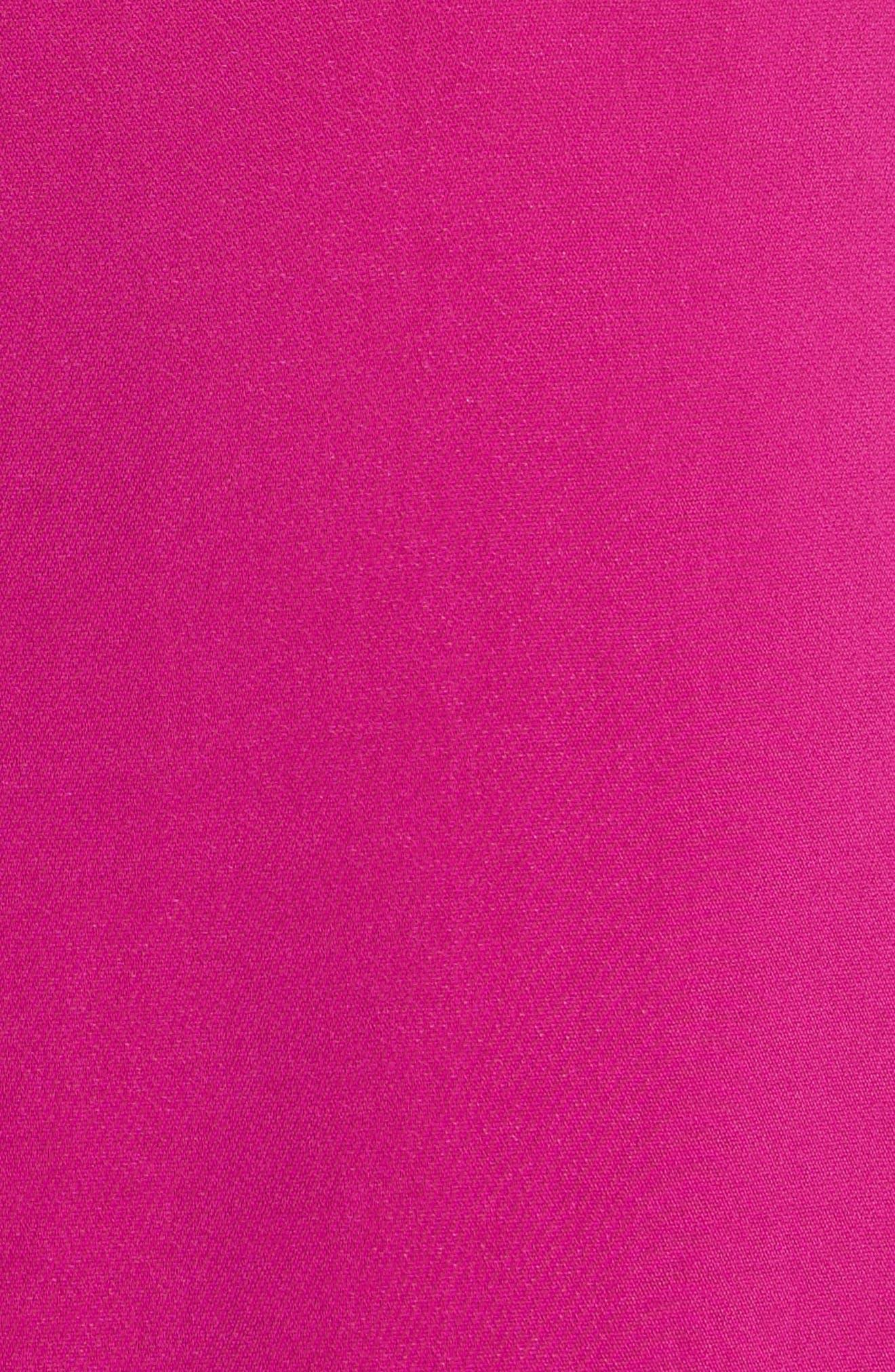 Slip Sheath Dress,                             Alternate thumbnail 5, color,                             Cyclamen