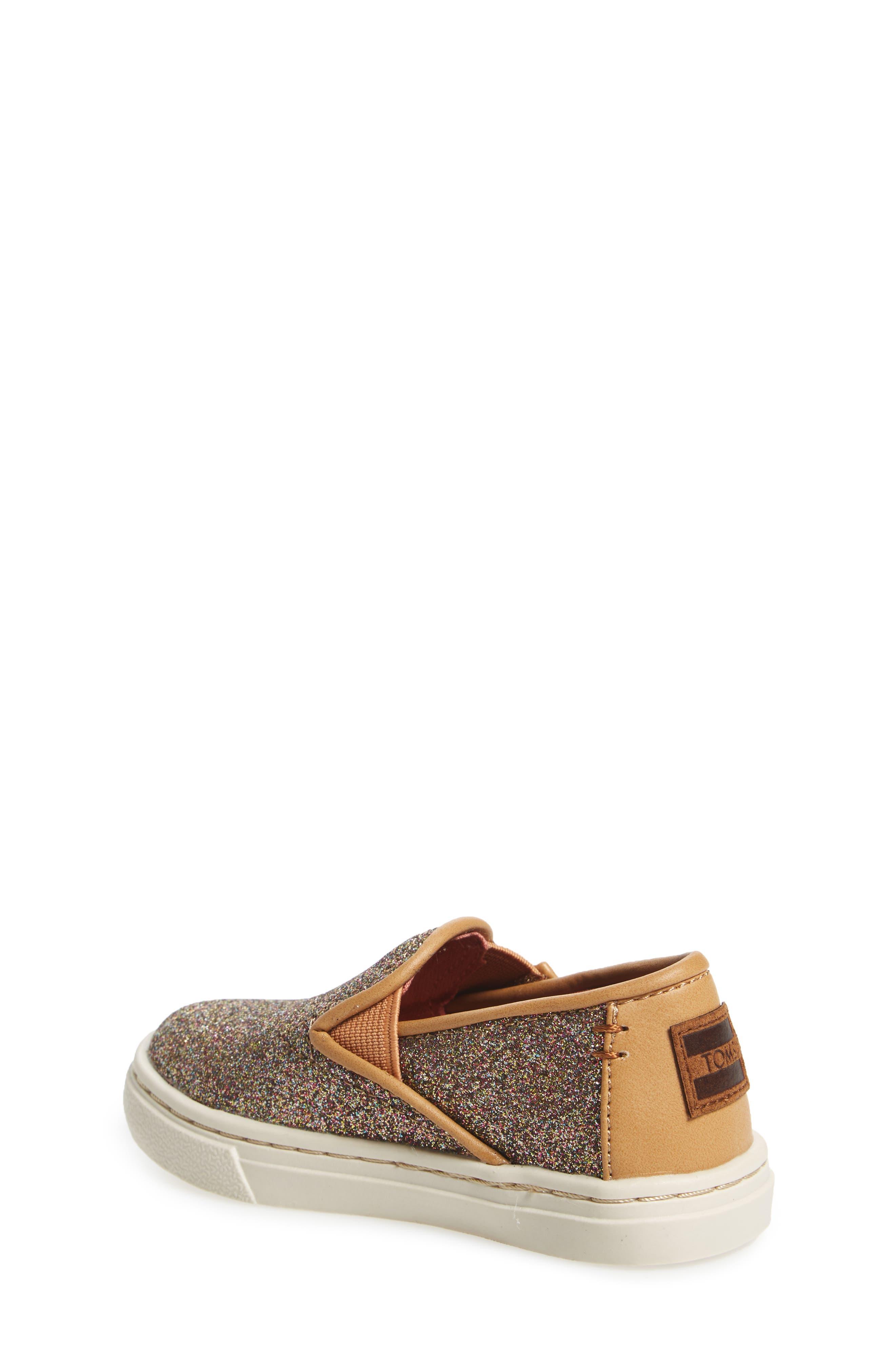 Alternate Image 2  - TOMS Luca Slip-On Sneaker (Baby, Walker & Toddler)