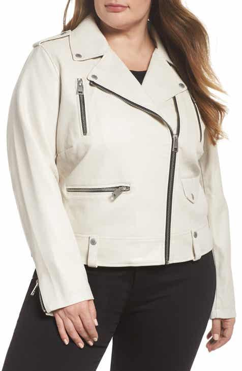 5d378a9c020 Levi s® Lamb Touch Faux Leather Moto Jacket (Plus Size)
