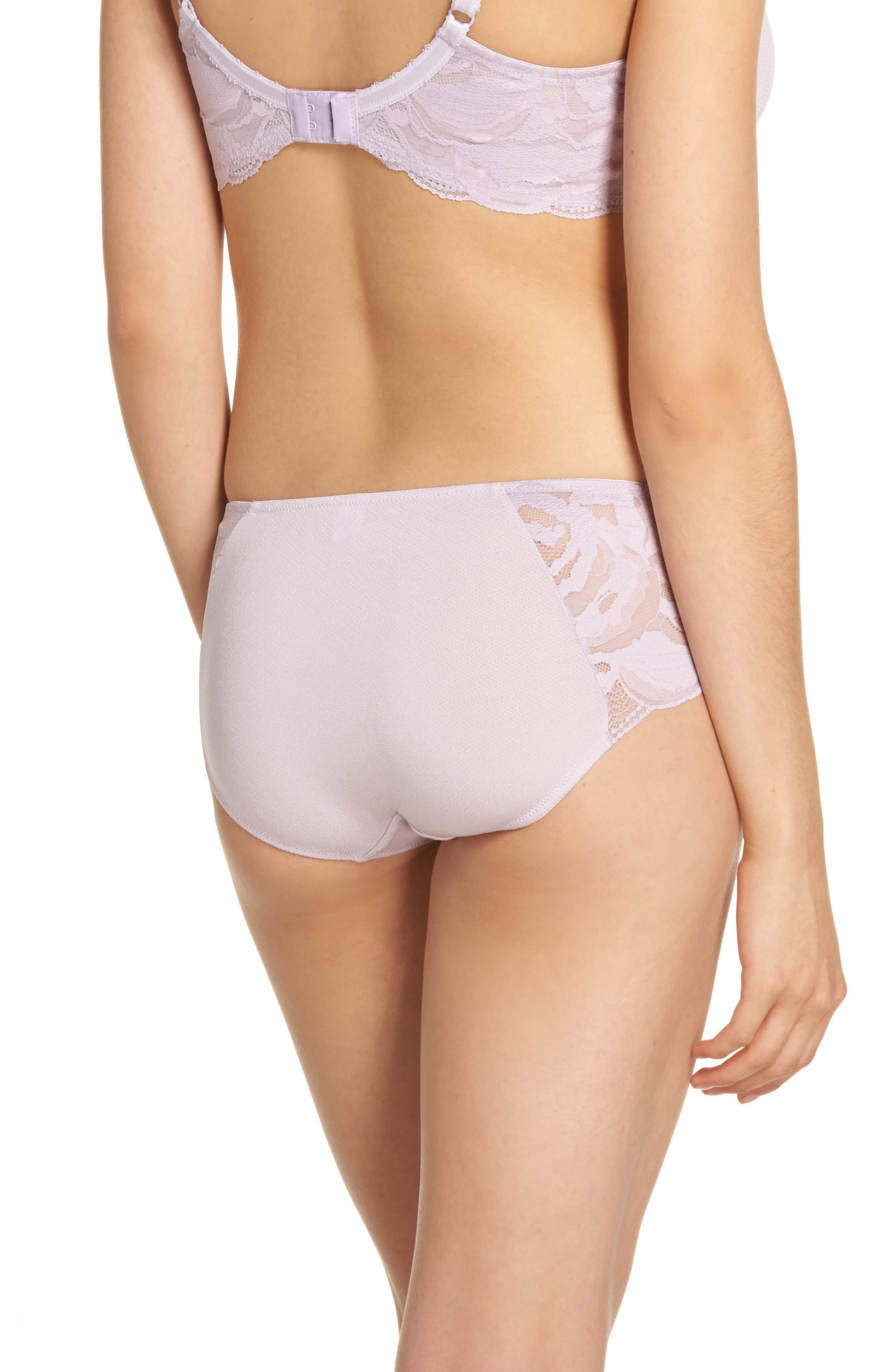 Hipster Top Tier Panties,                             Alternate thumbnail 2, color,                             Lavender Frost