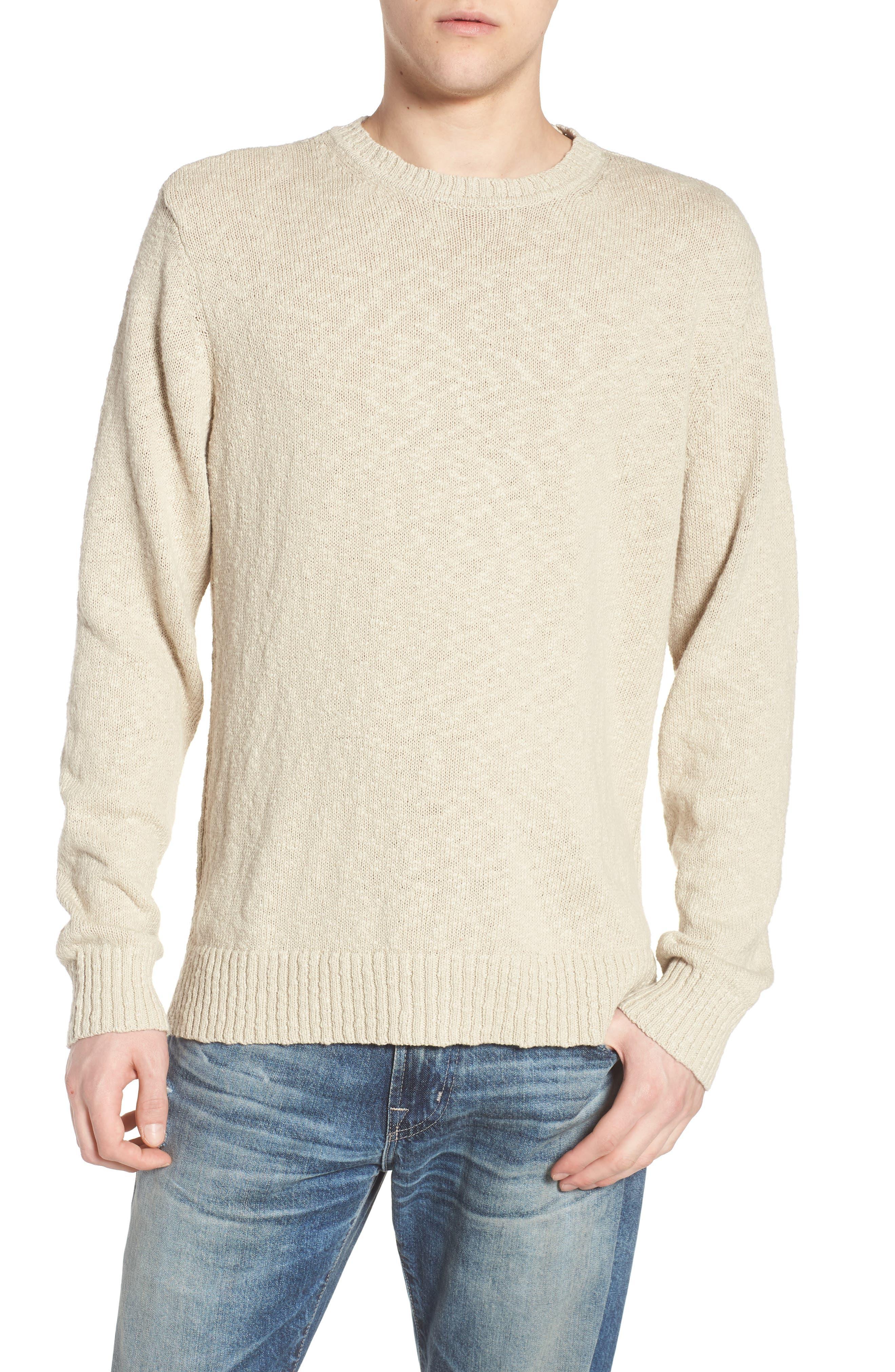 Deklyn Slim Fit Crew Sweater,                             Main thumbnail 1, color,                             Mineral Veil