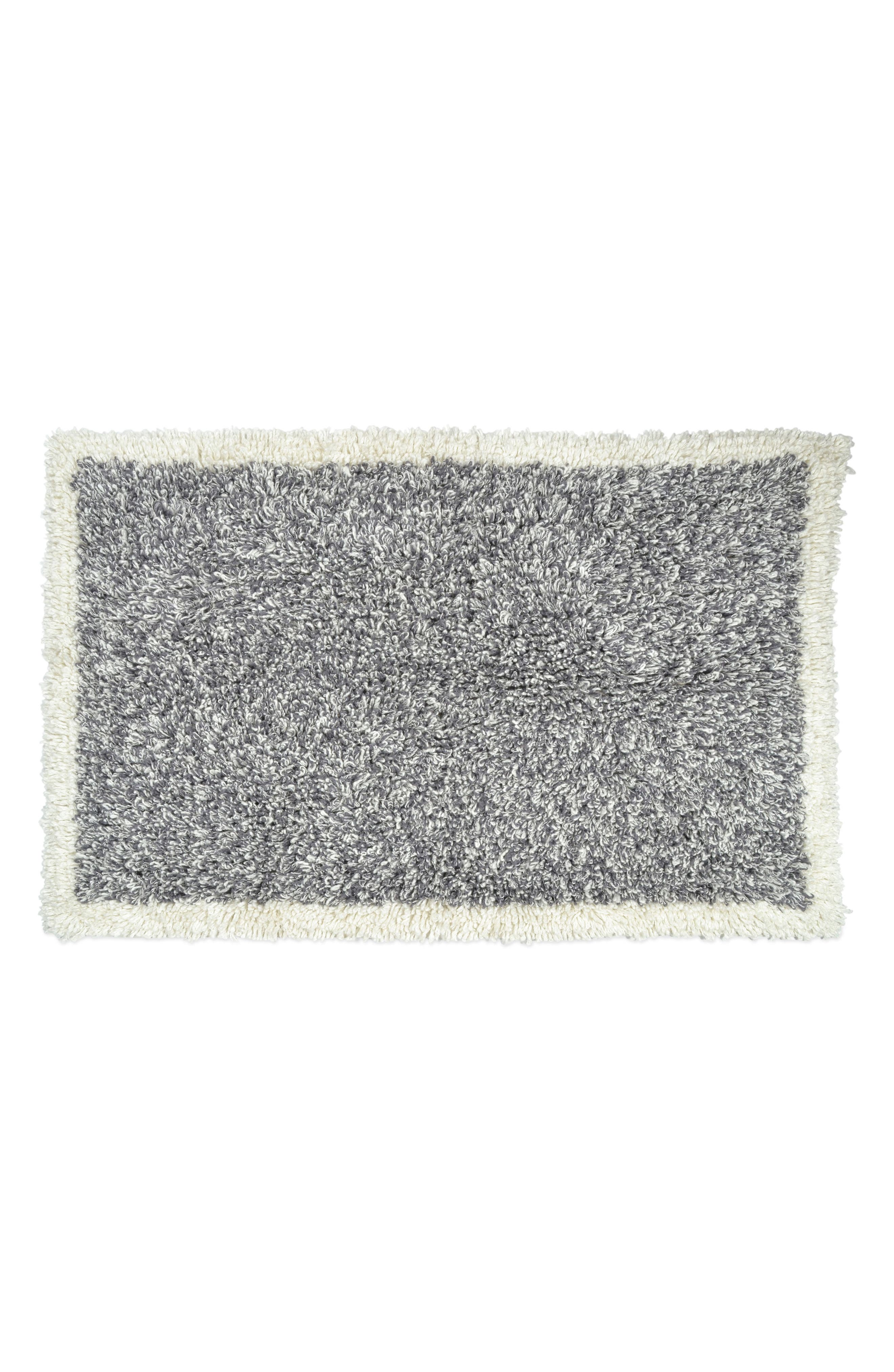 Pure Heathered Rug,                         Main,                         color, Grey/ White