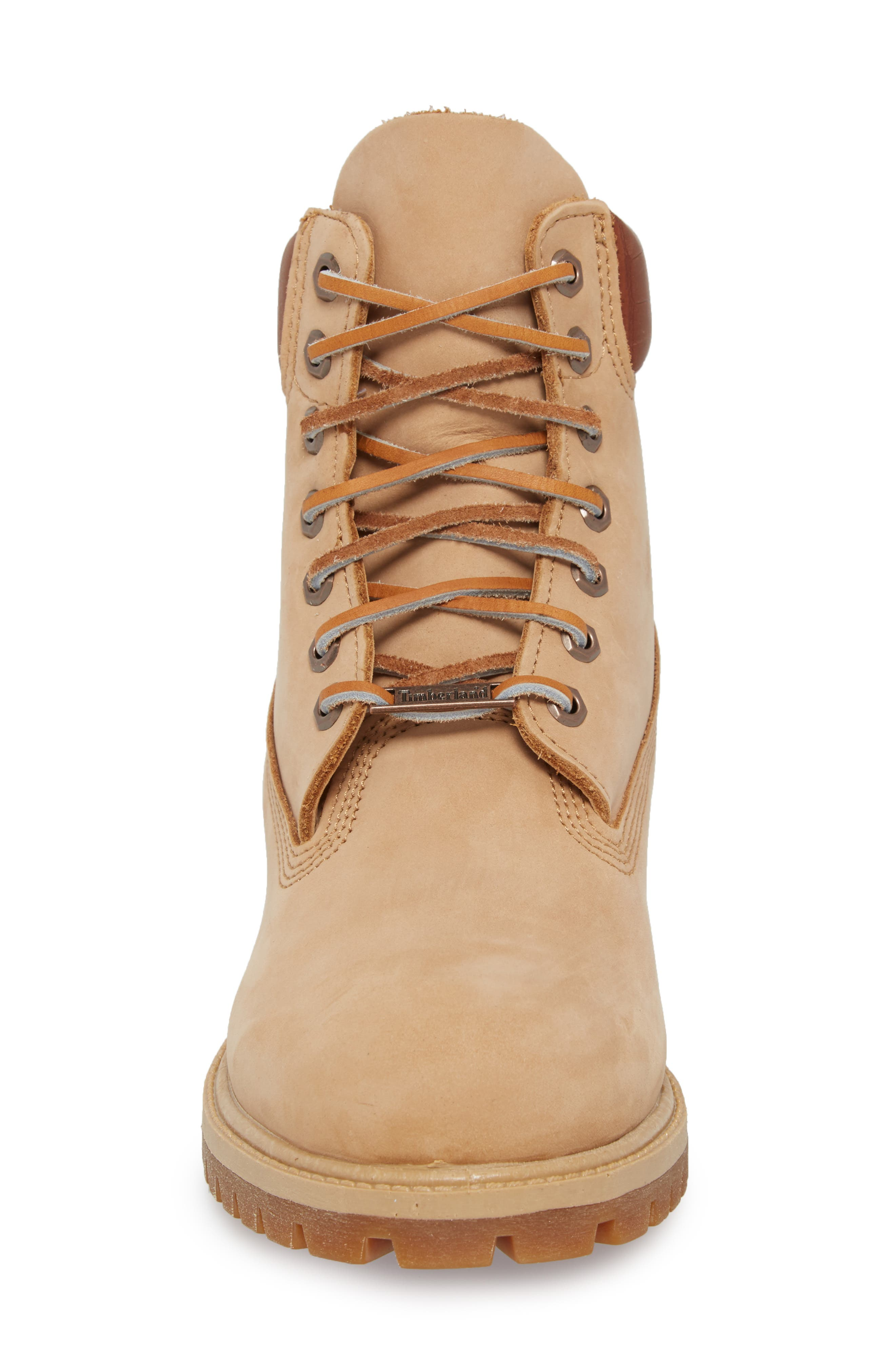 Premium Waterproof PrimaLoft<sup>®</sup> Insulated Boot,                             Alternate thumbnail 4, color,                             Iced Coffee