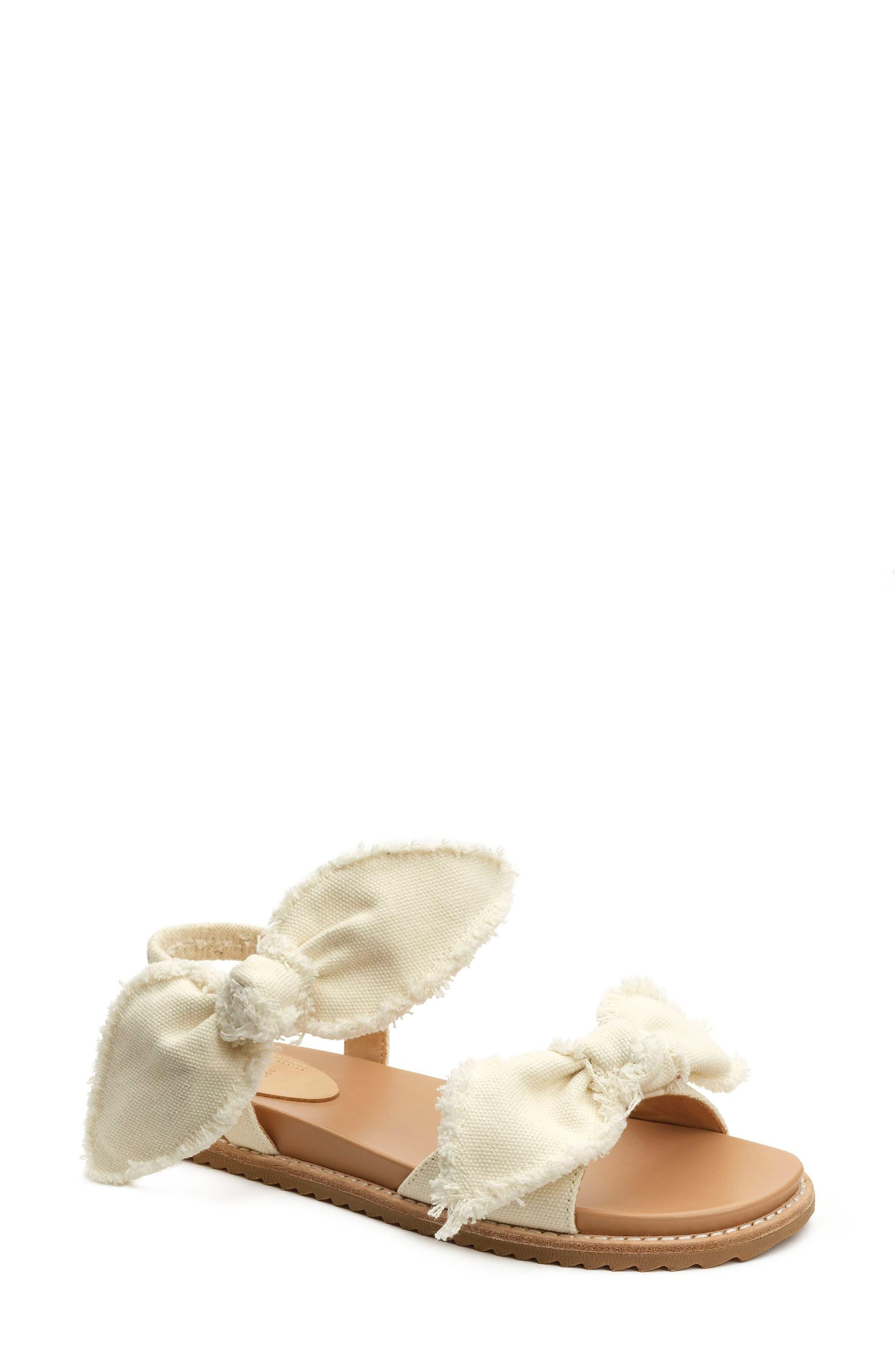 Camden Sandal,                         Main,                         color, Ivory