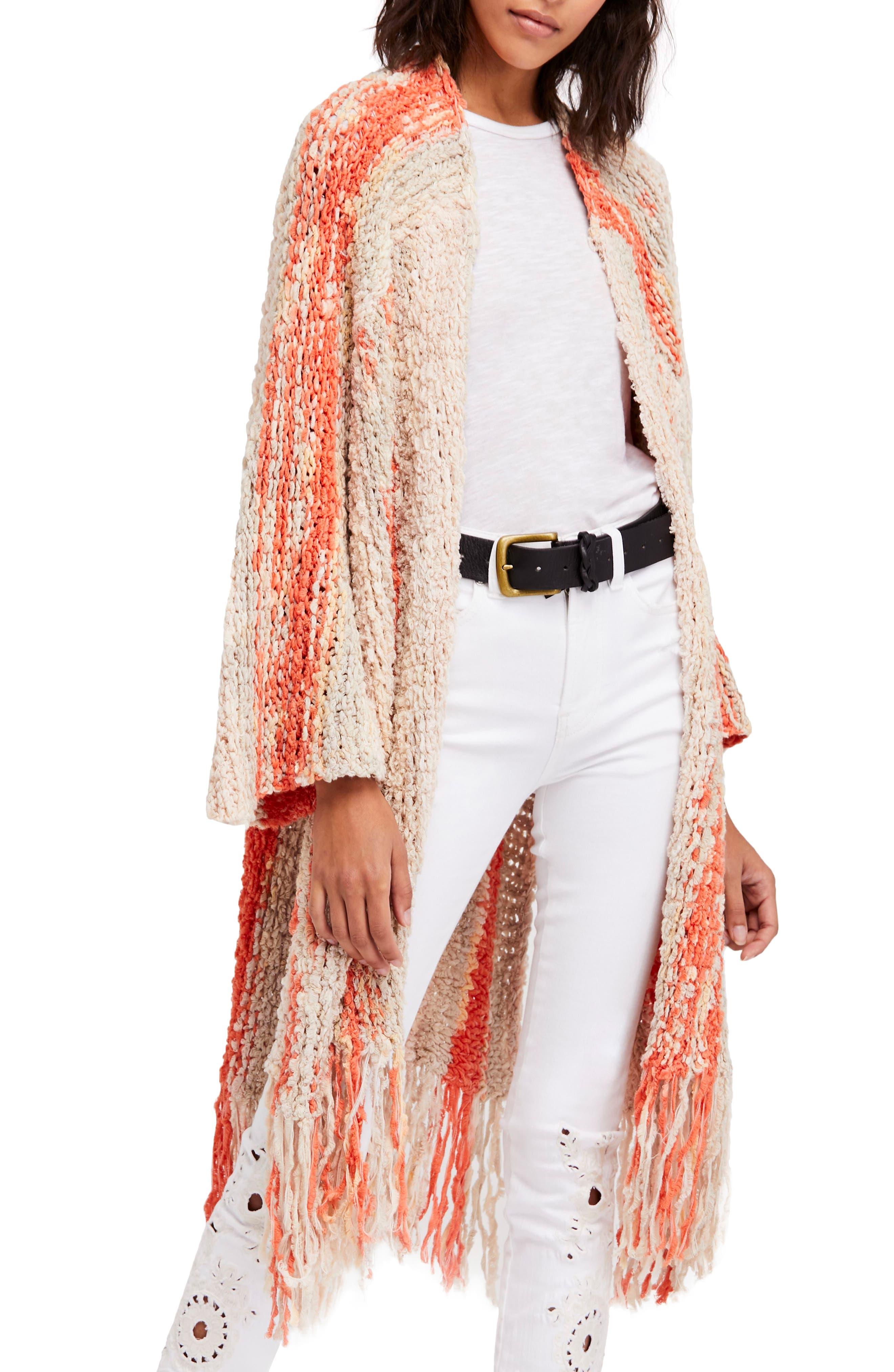 Desert Daze Cardigan,                         Main,                         color, Neutral Combo
