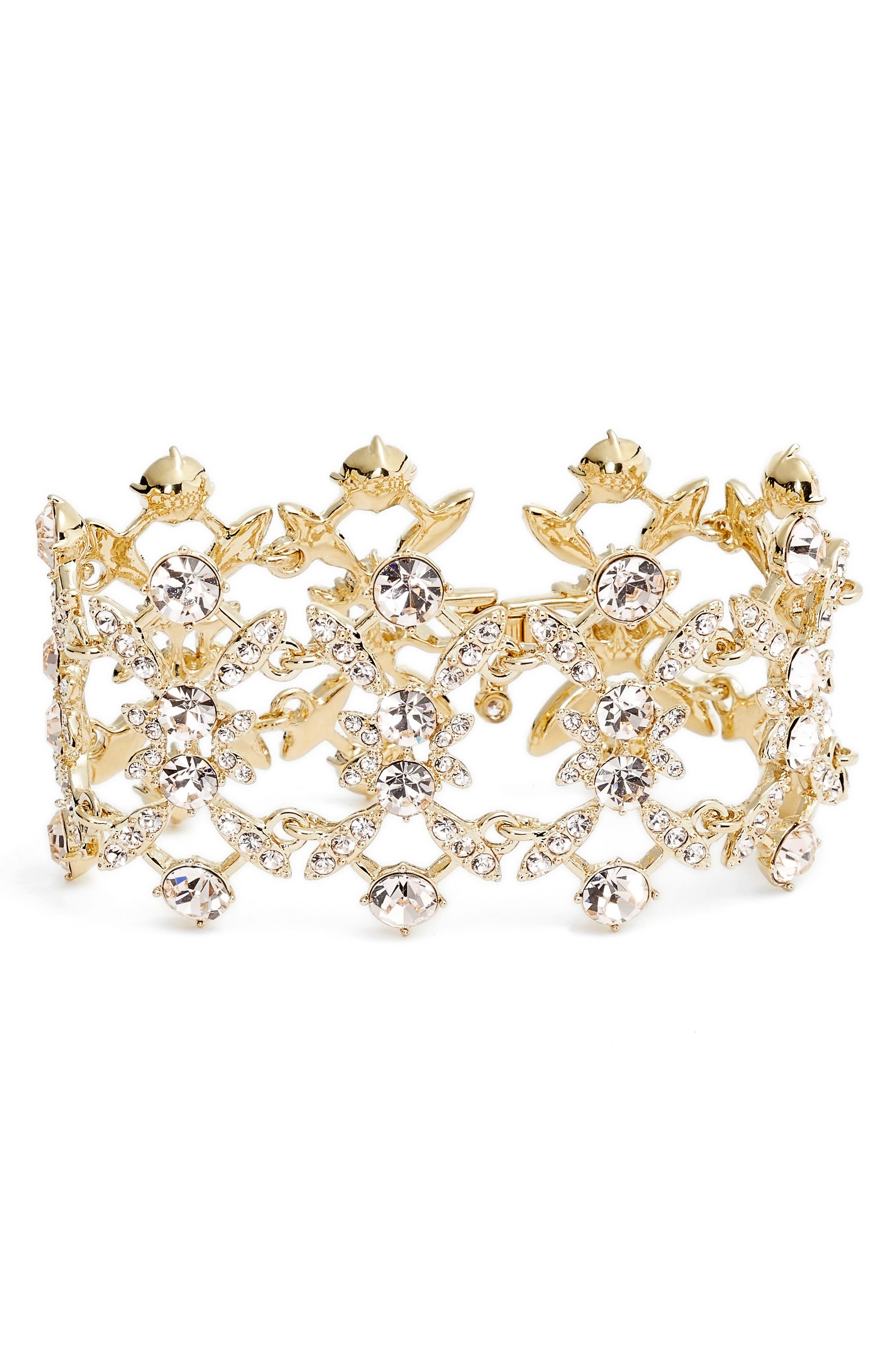 Givenchy Drama Crystal Bracelet
