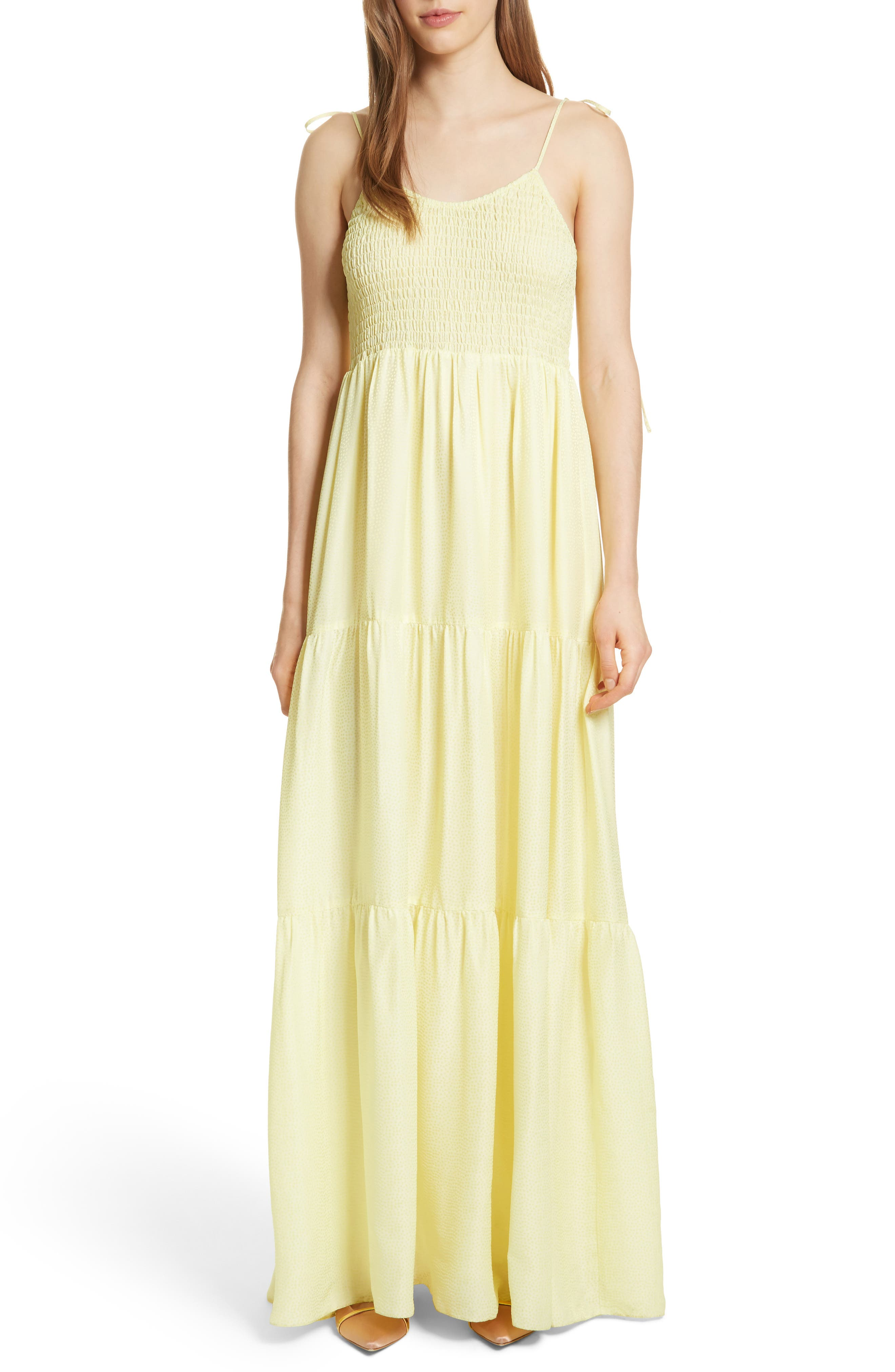 Prose & Poetry Inaya Maxi Dress,                         Main,                         color, Limoncello