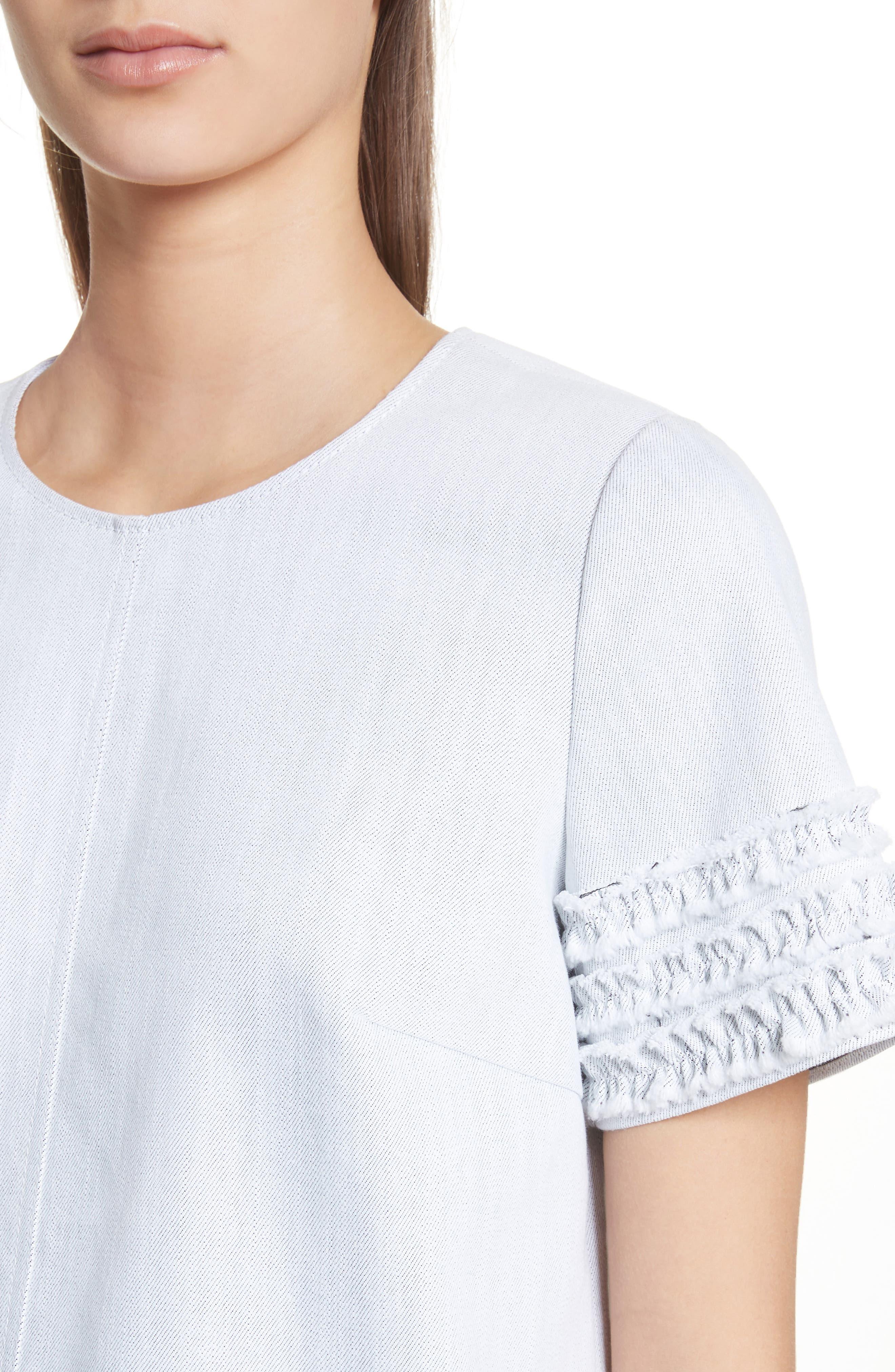 Ashton Dress,                             Alternate thumbnail 4, color,                             White