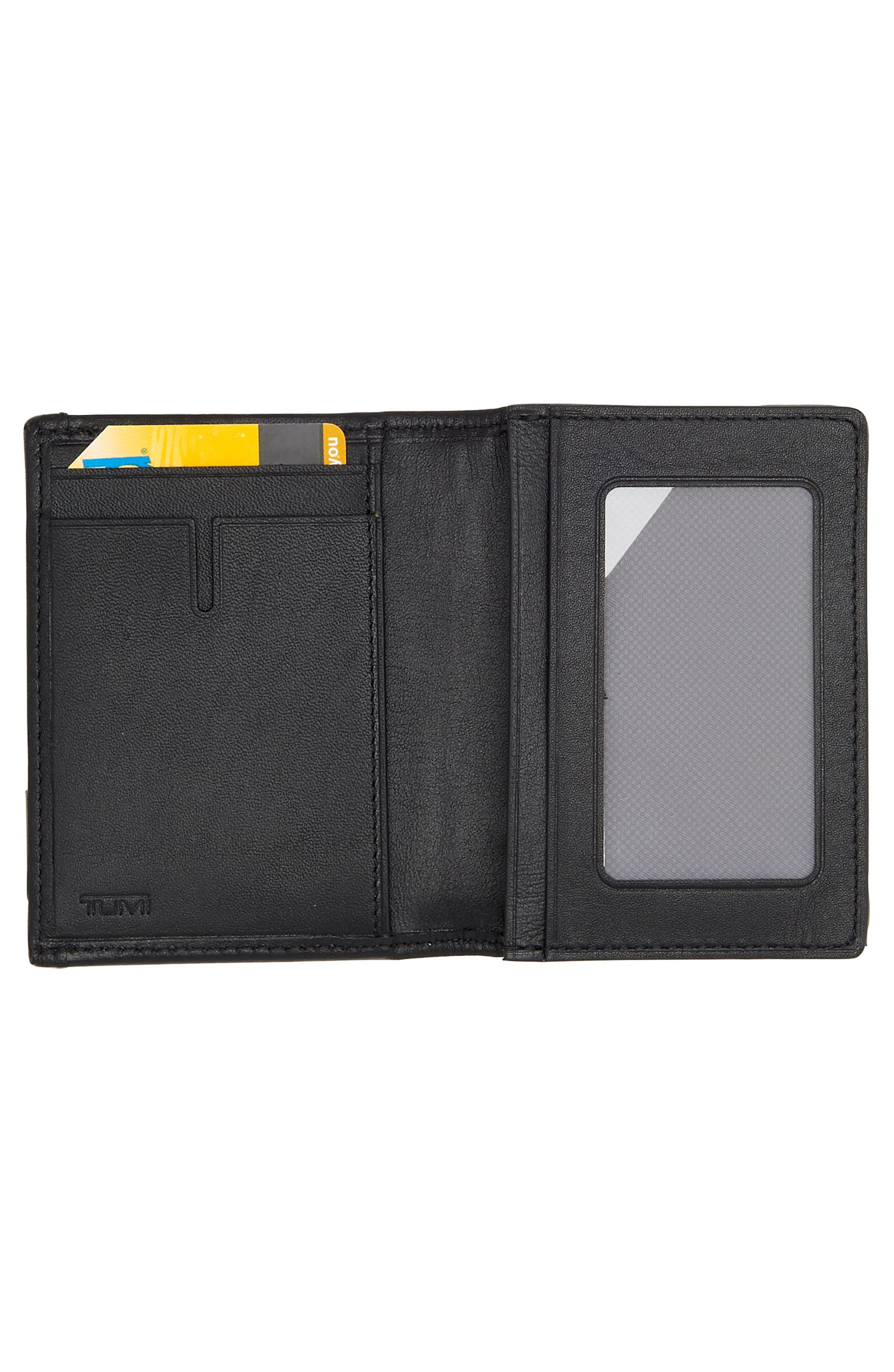 Alpha Card Case,                             Alternate thumbnail 2, color,                             Anthracite/ Black