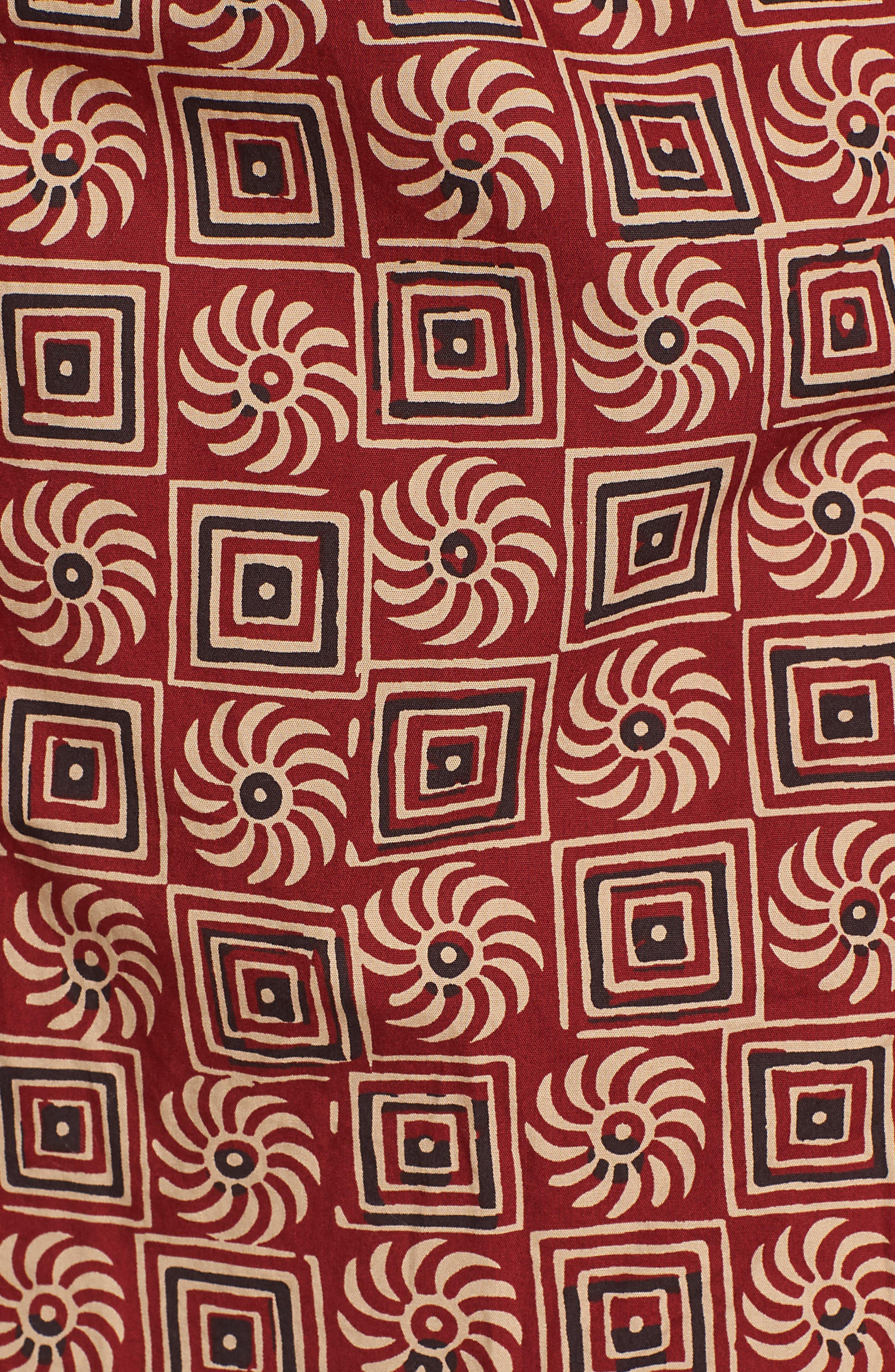Camp Shirt,                             Alternate thumbnail 5, color,                             Multi