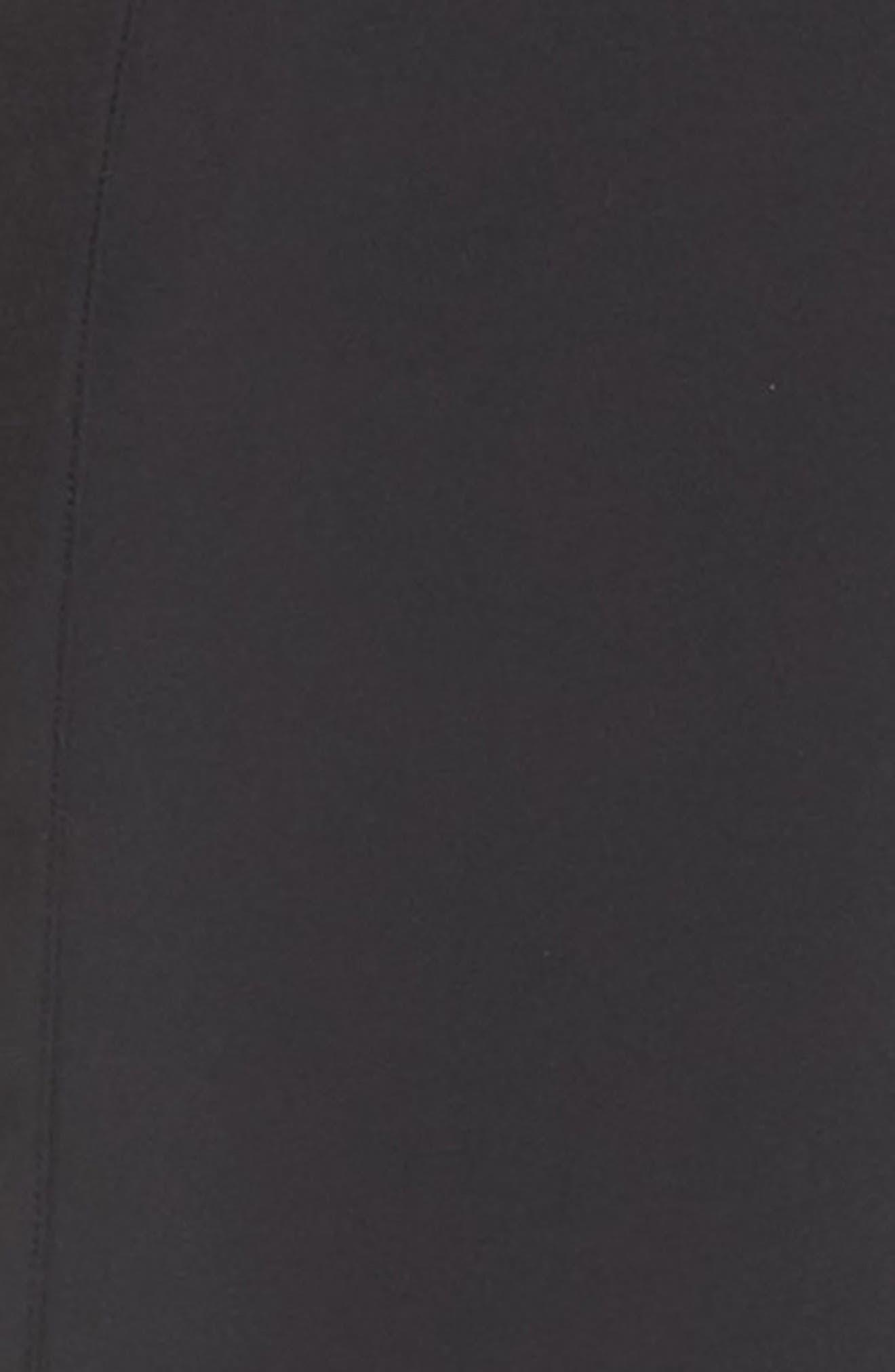 Walk the Talk Track Pants,                             Alternate thumbnail 6, color,                             Black Wolf
