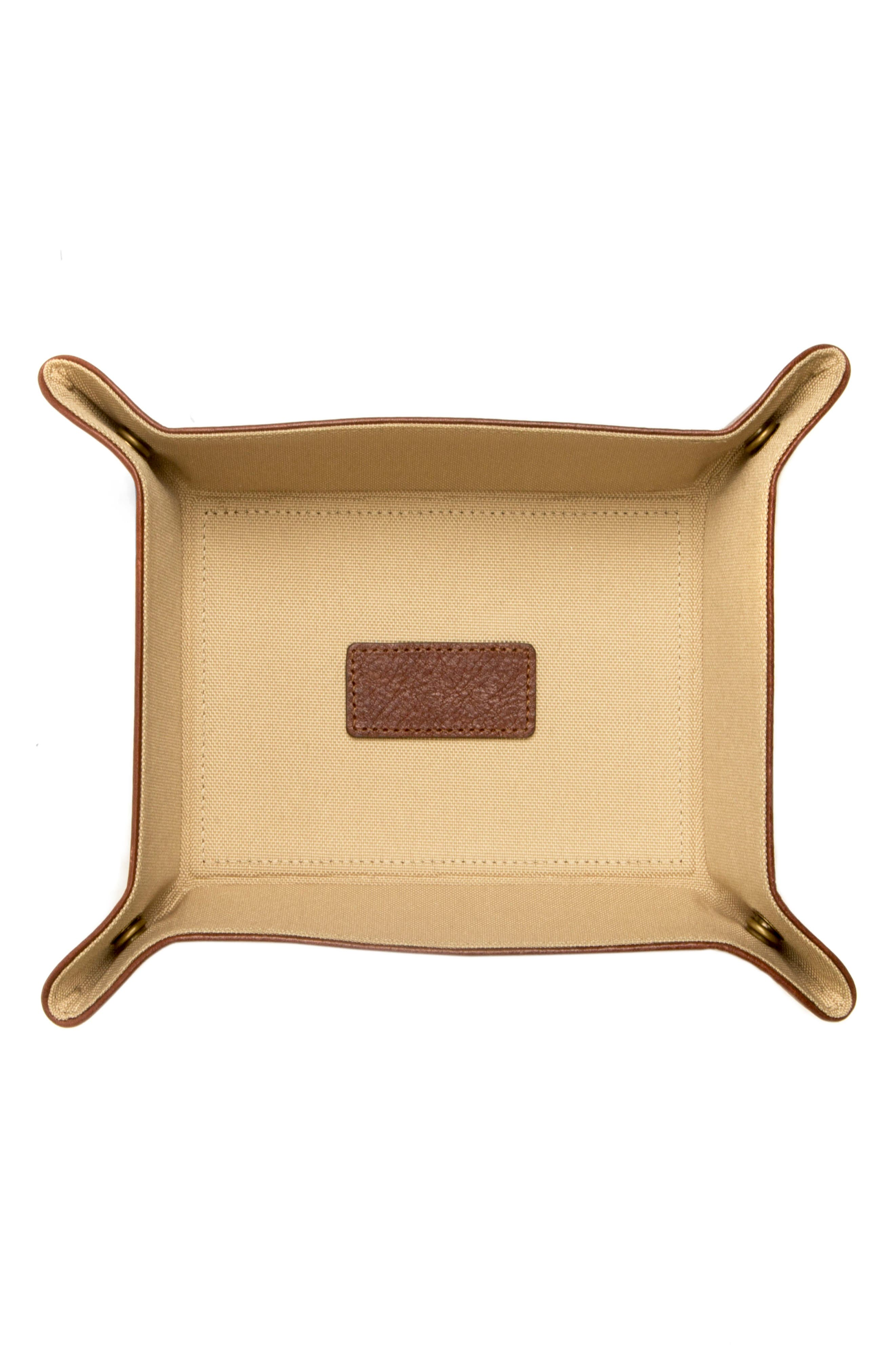 Becker Catchall Tray,                             Alternate thumbnail 2, color,                             Whiskey