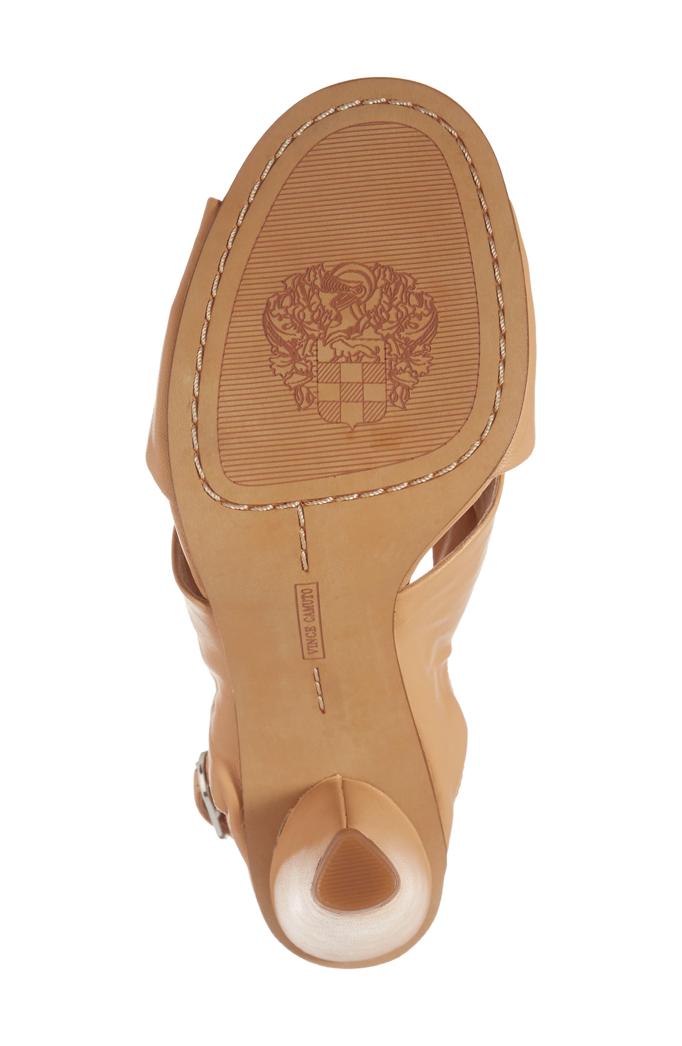 Kattie Slingback Sandal,                             Alternate thumbnail 6, color,                             Privacy Leather