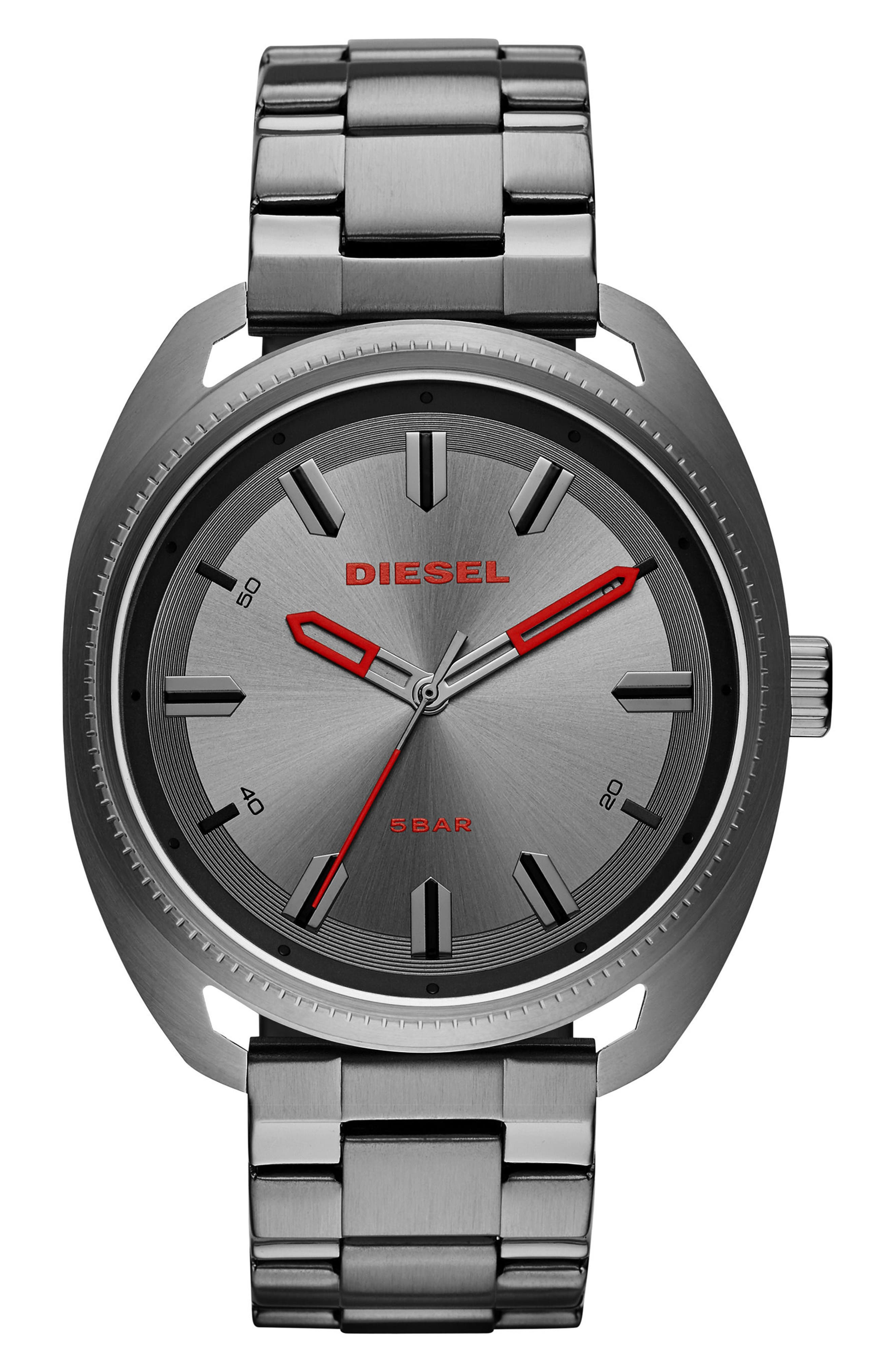 DIESEL® Fastbak Bracelet Watch, 46mm x 52mm