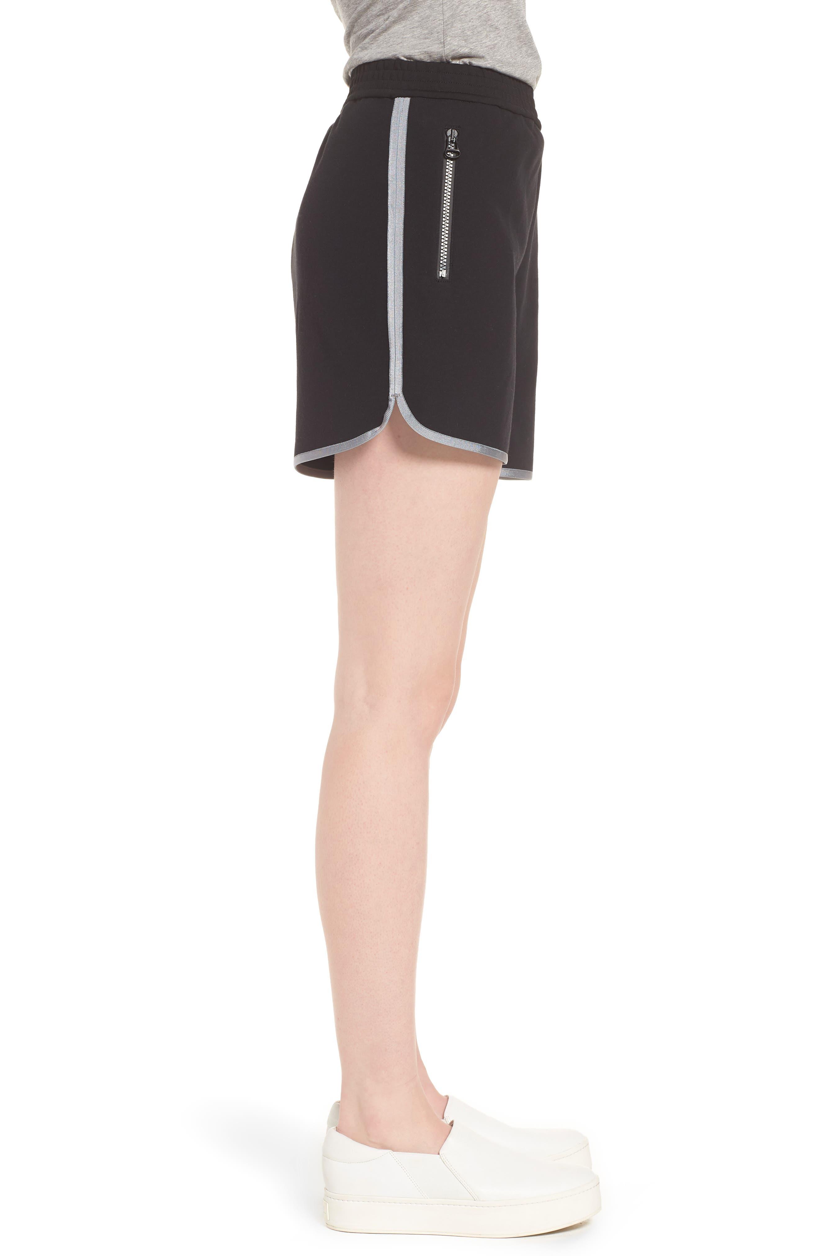 Gym Shorts,                             Alternate thumbnail 3, color,                             Black