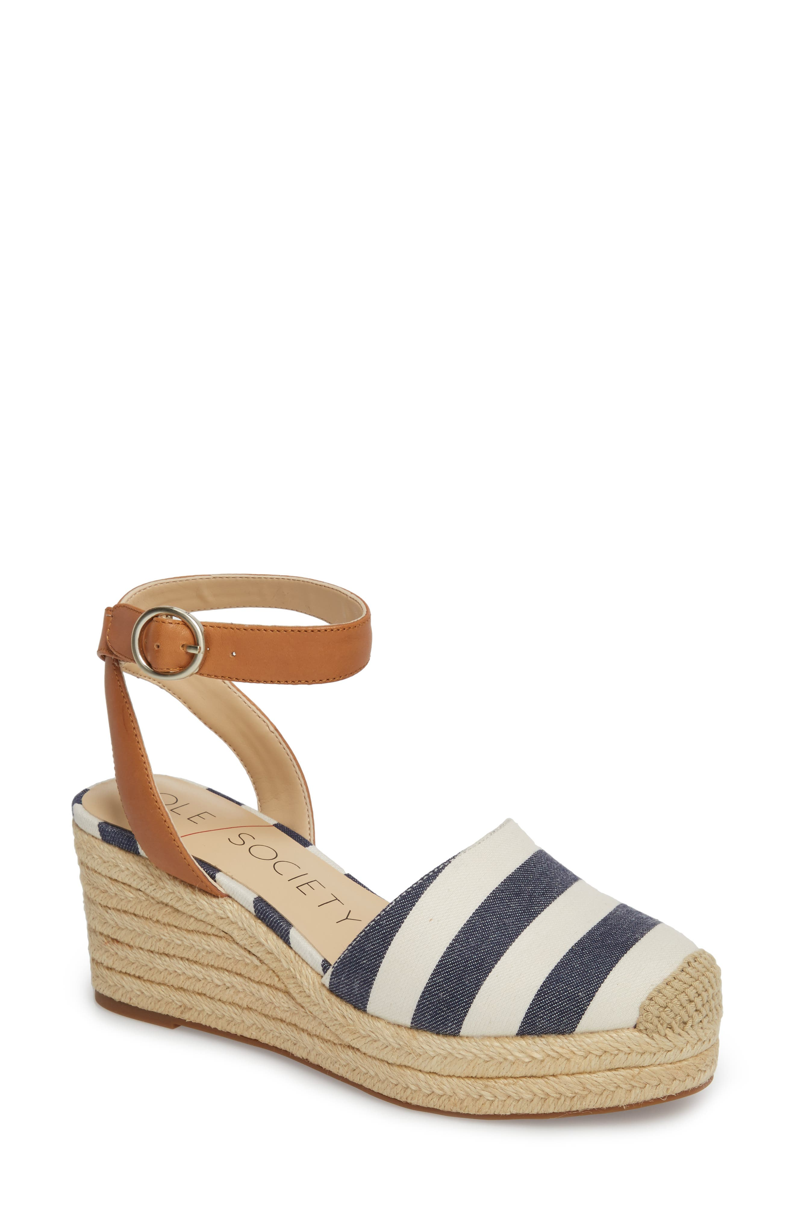 Sole Society Channing Espadrille Sandal (Women)
