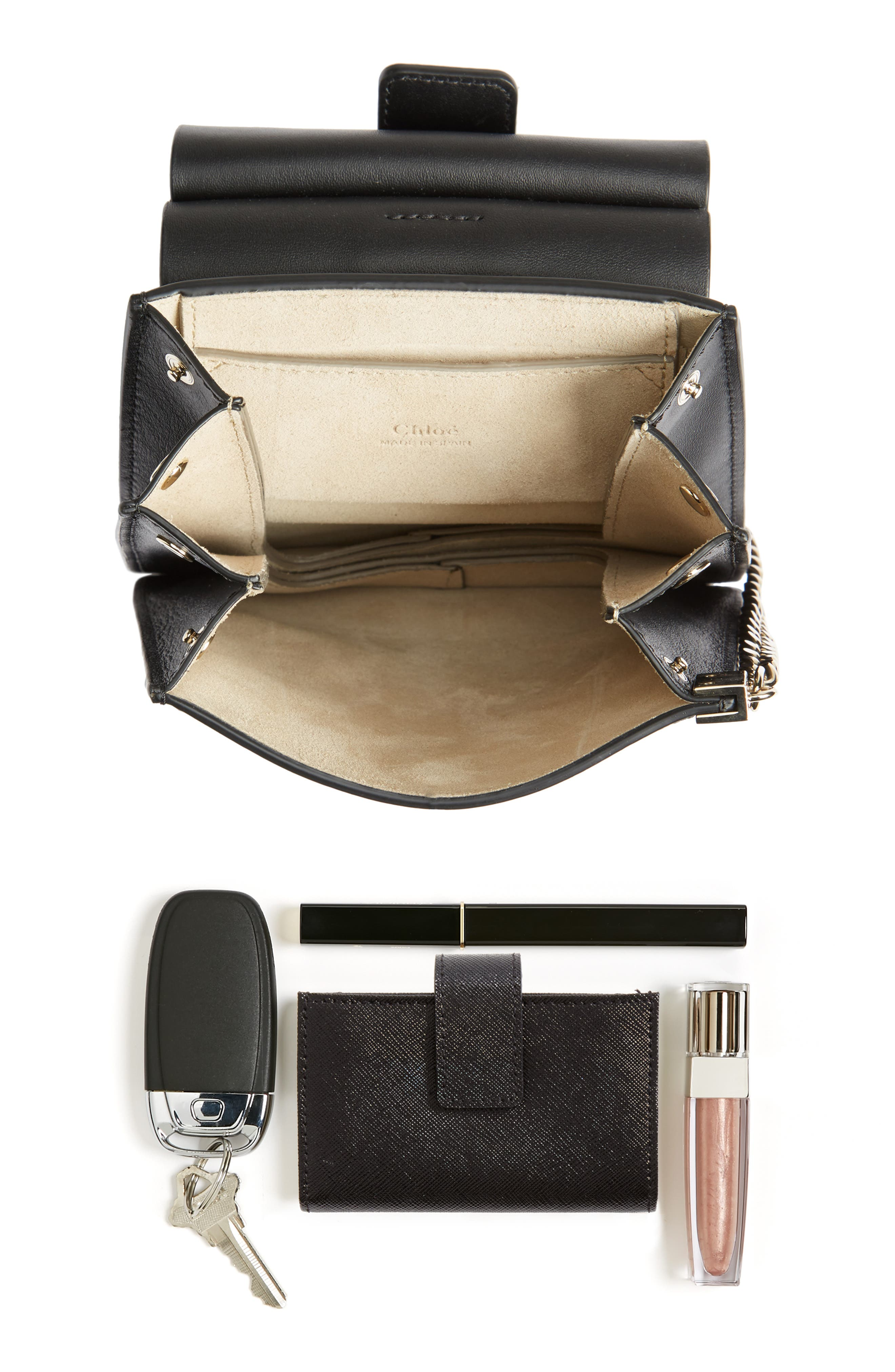 Alternate Image 6  - Chloé Faye Small Suede & Leather Bracelet Bag