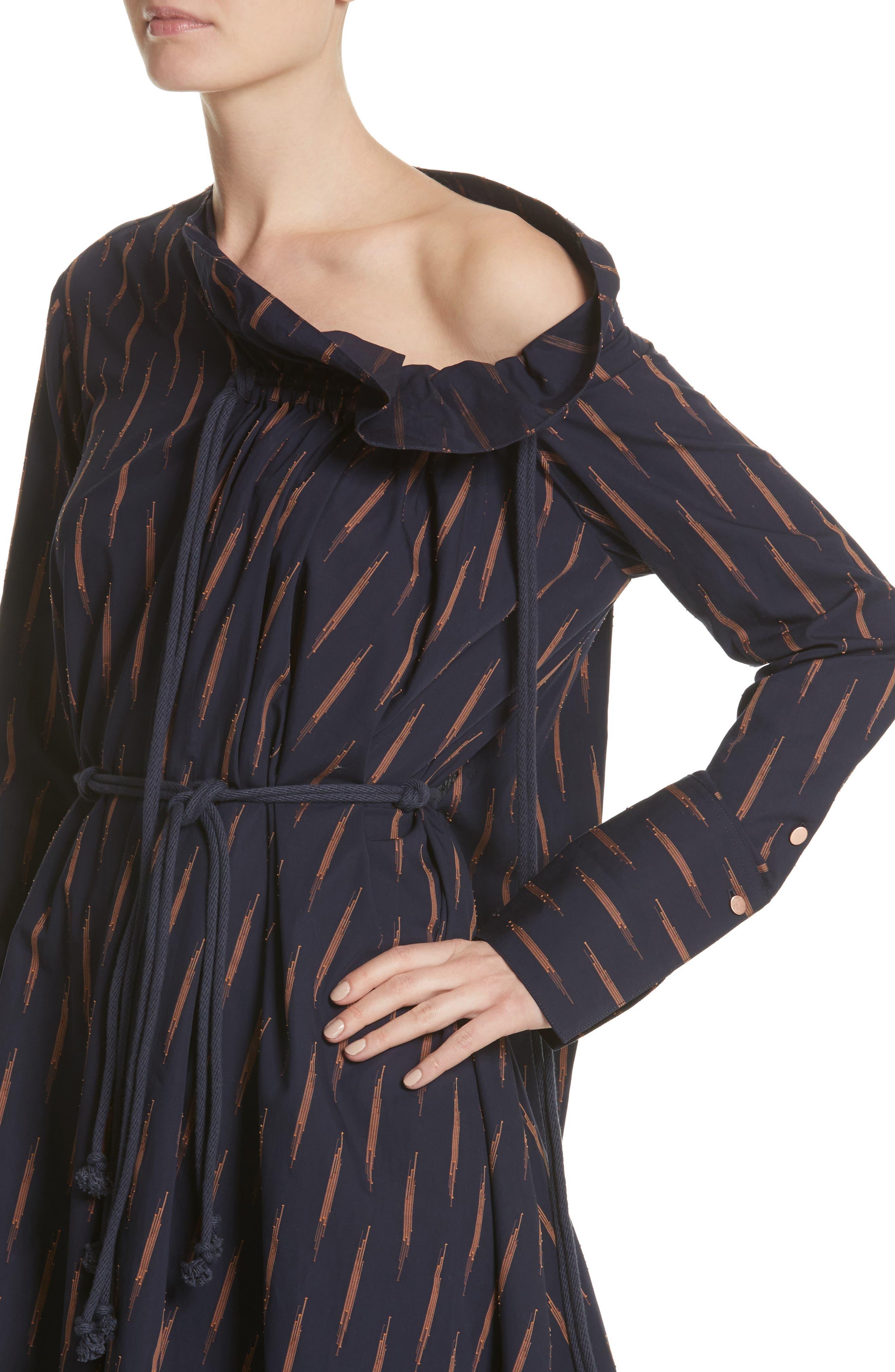 Alternate Image 4  - PALMER//HARDING Gallery One-Shoulder Dress