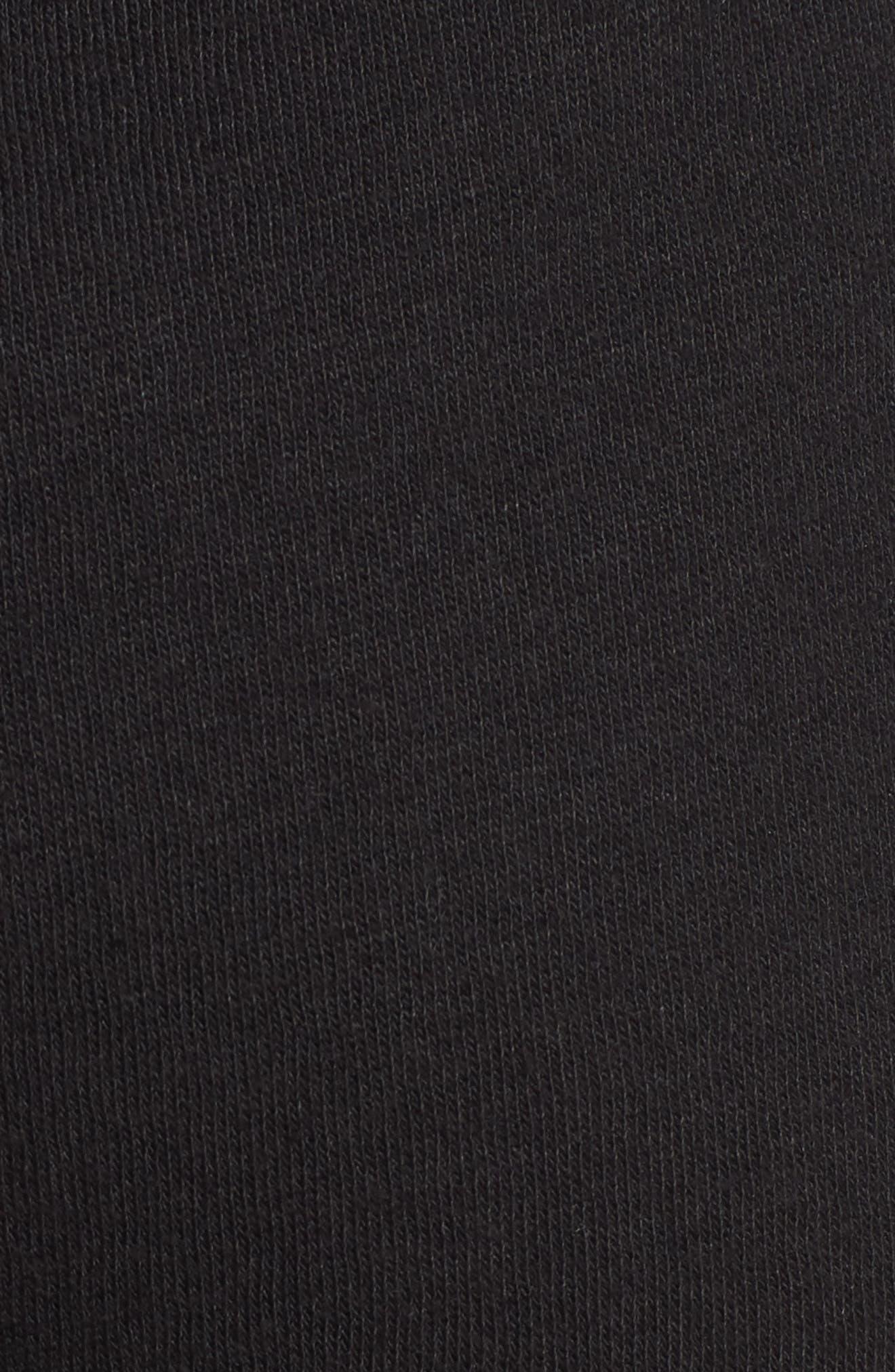 Gym & Tonic Crop Sweatpants,                             Alternate thumbnail 6, color,                             Black