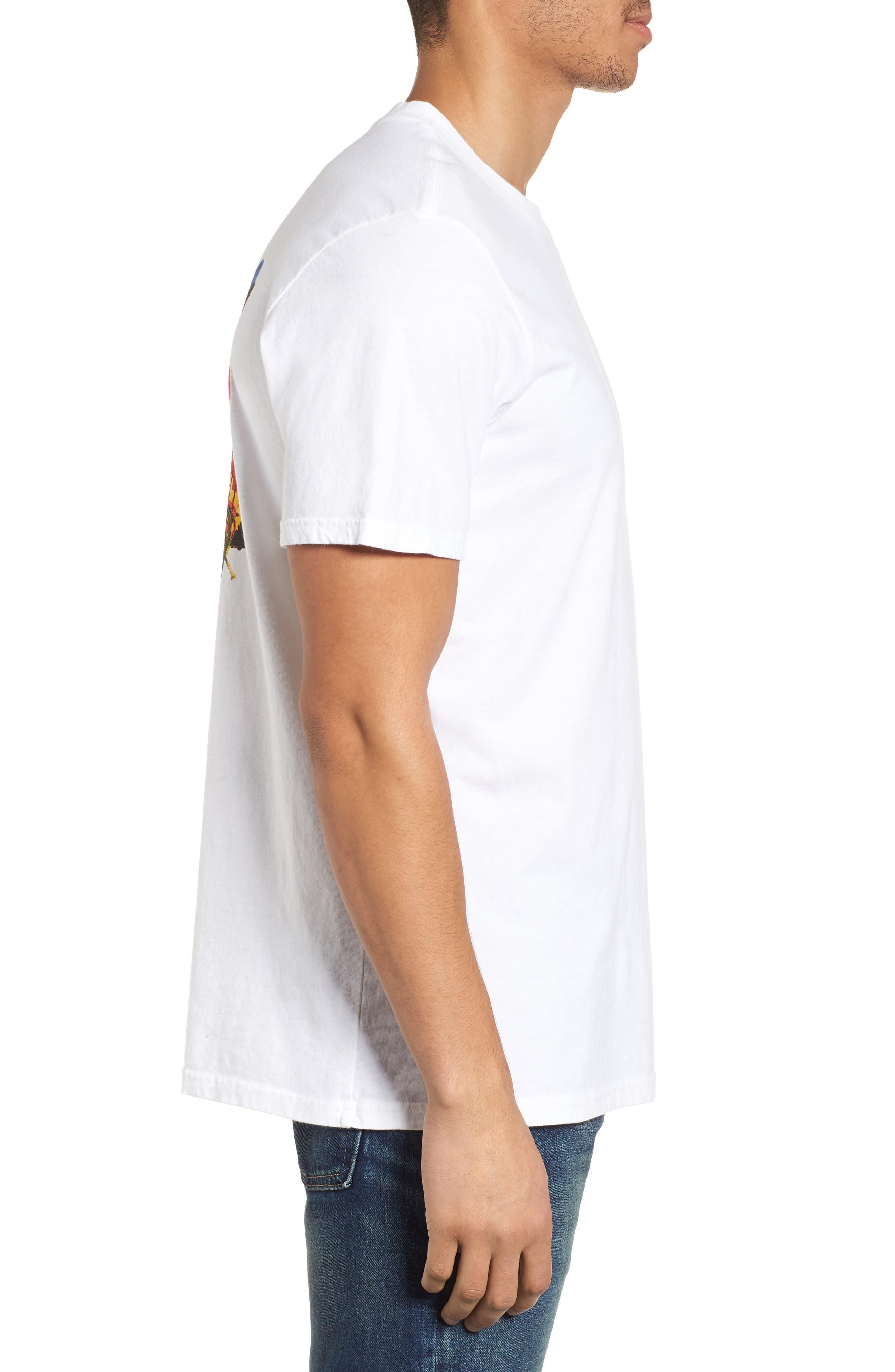 x Warhol Liberty T-Shirt,                             Alternate thumbnail 3, color,                             Vintage White