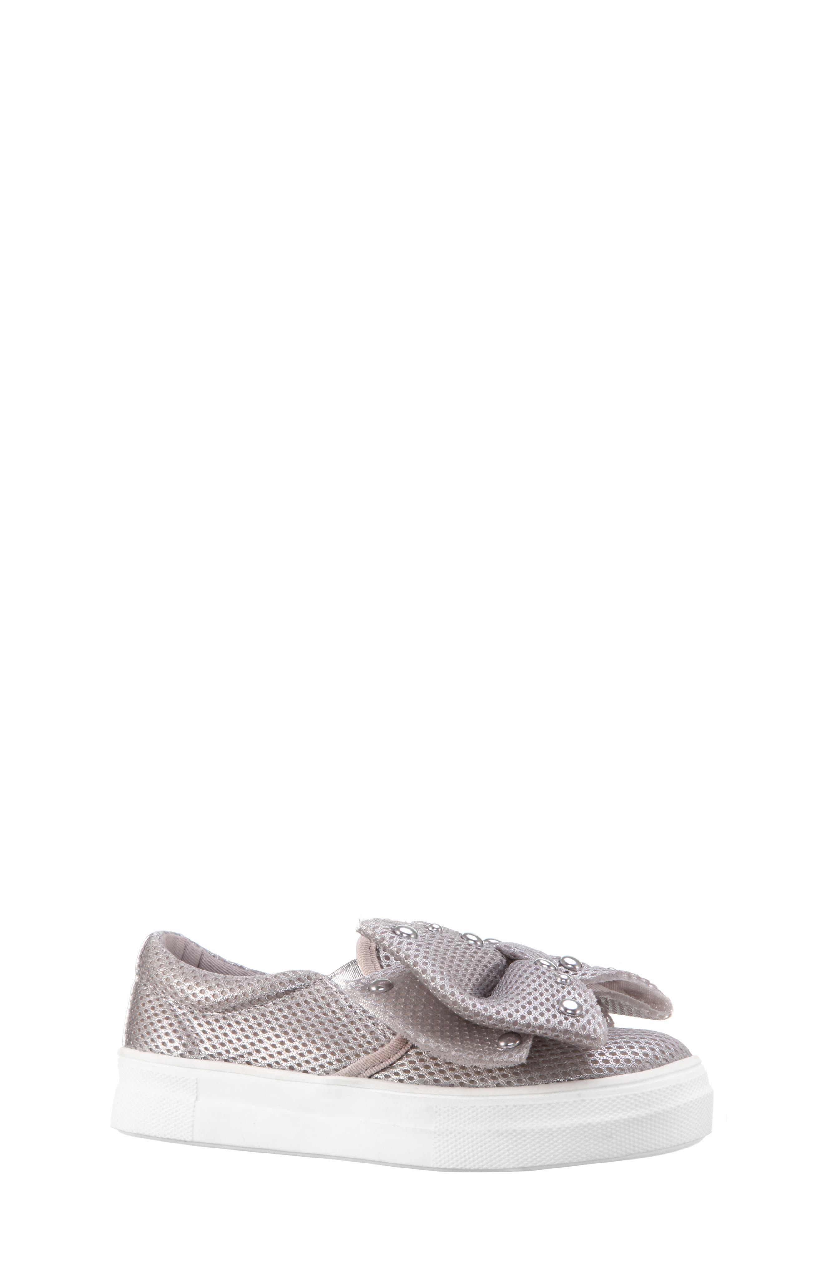 Nina Mary Bow Slip-On Sneaker (Toddler, Little Kid & Big Kid)