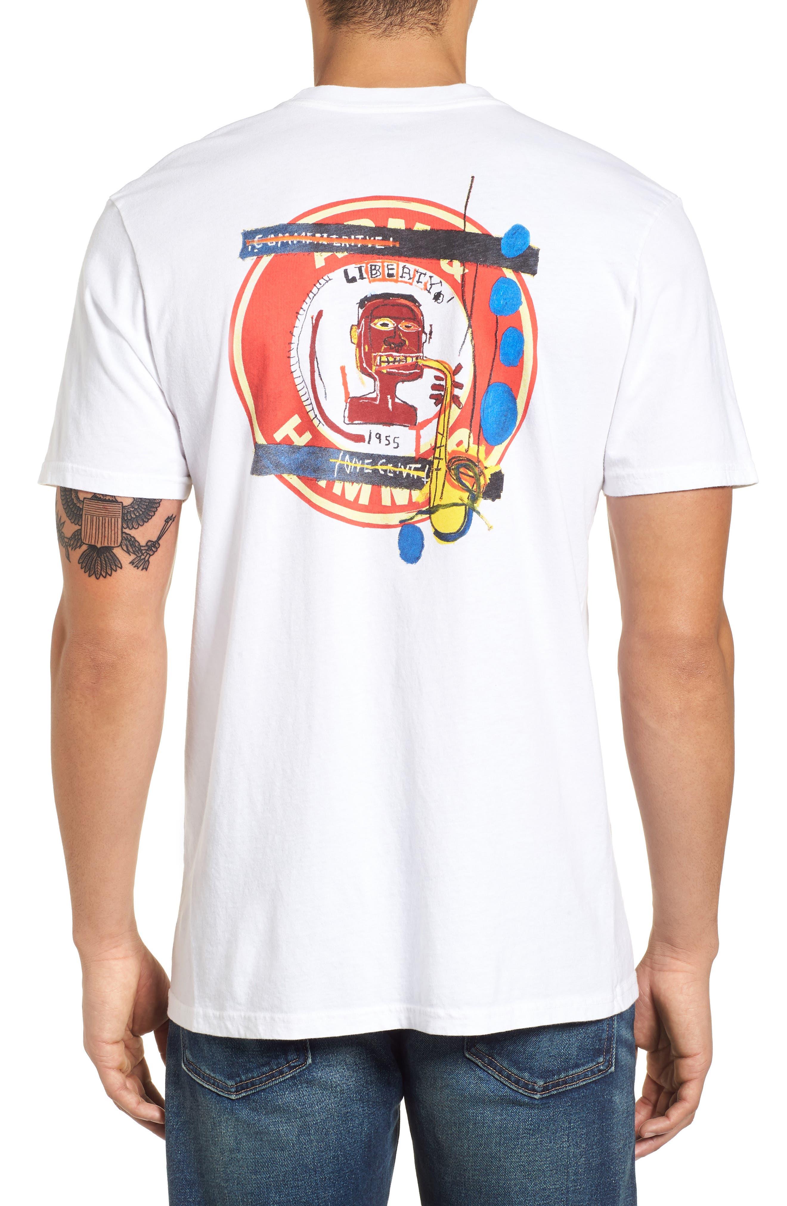 x Warhol Liberty T-Shirt,                             Alternate thumbnail 2, color,                             Vintage White