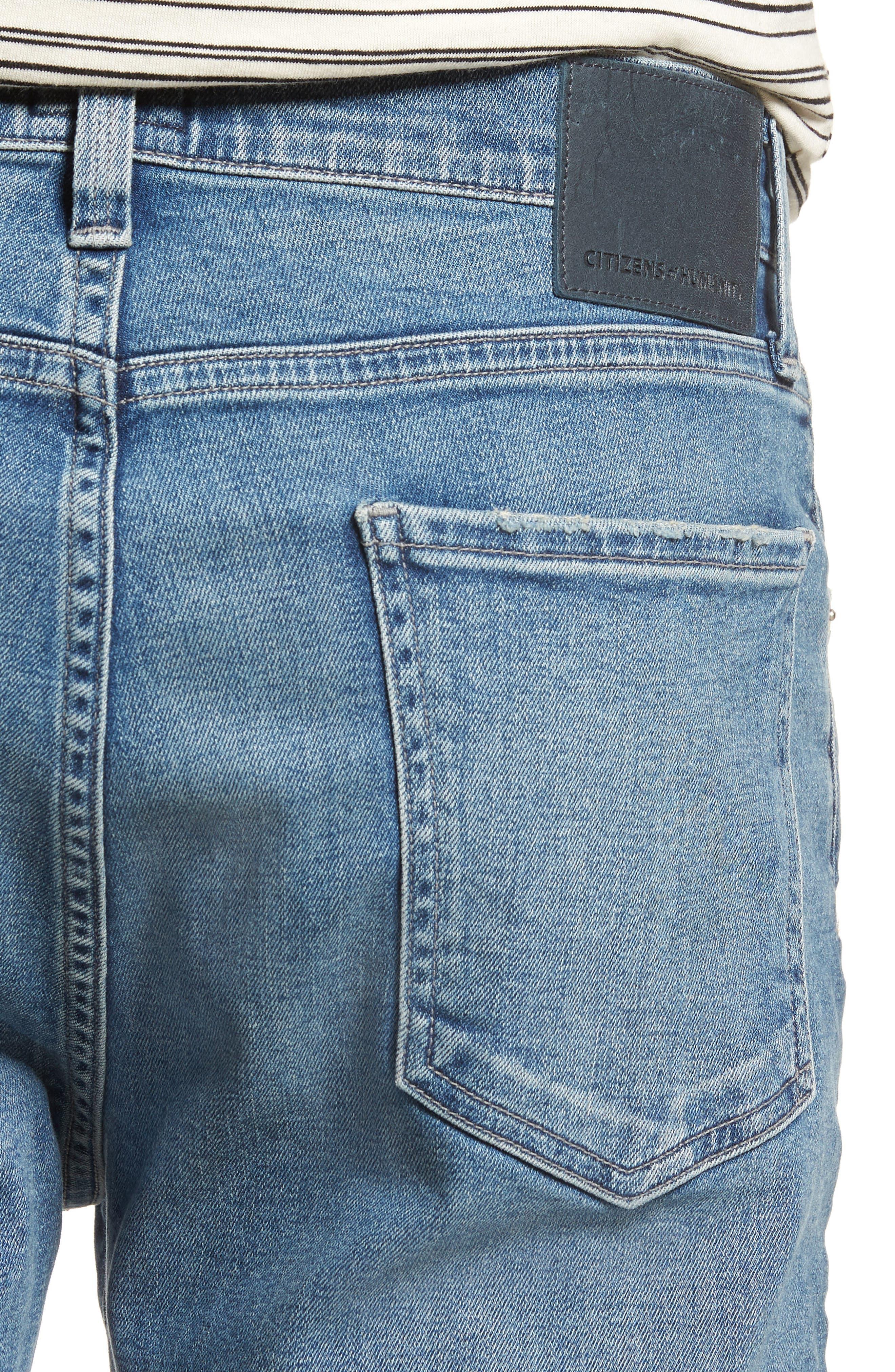 Gage Slim Straight Leg Jeans,                             Alternate thumbnail 4, color,                             Hemingway