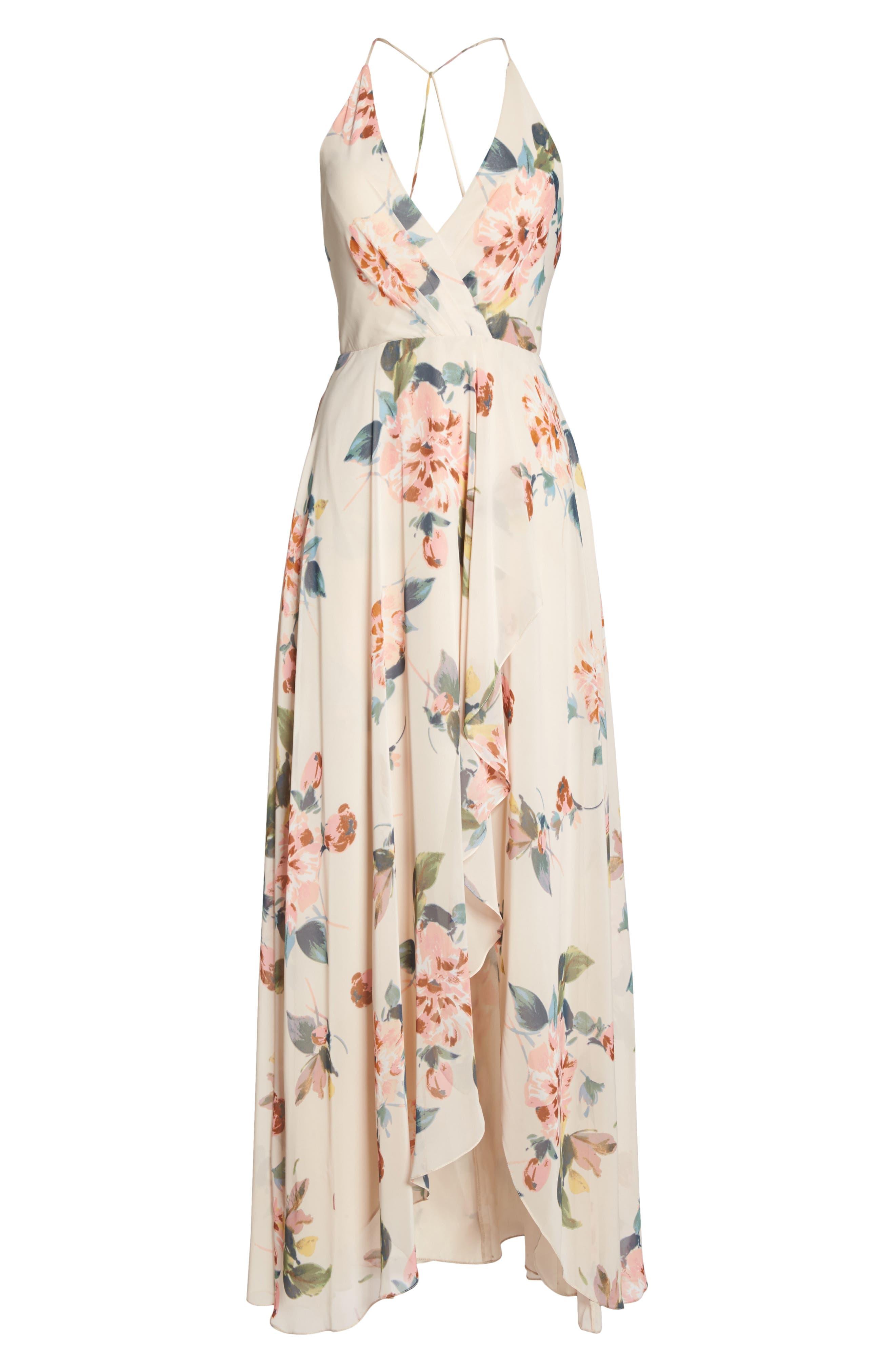 Alternate Image 6  - Jenny Yoo Farrah Halter Gown