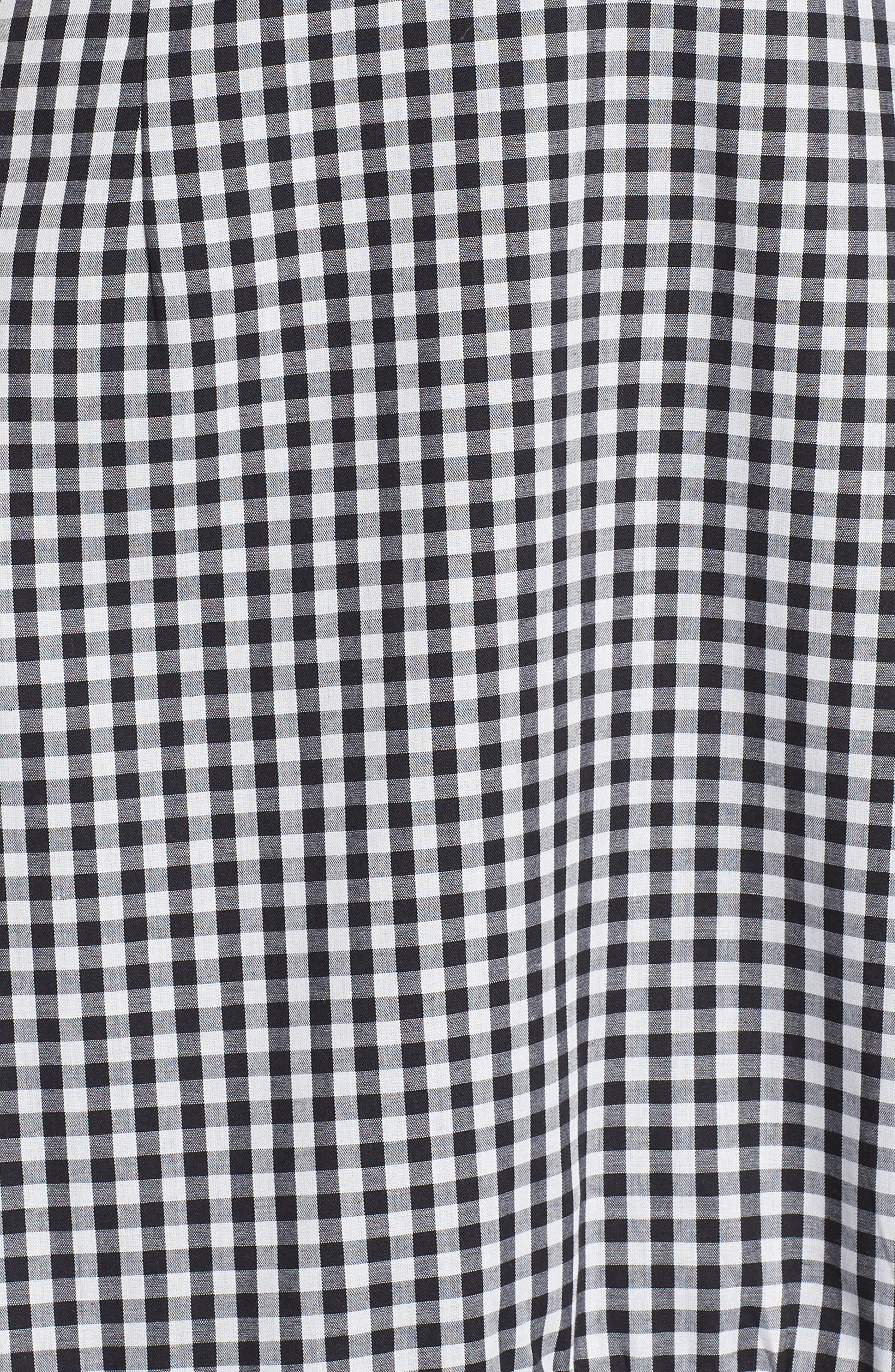Alternate Image 5  - WAYF Zander Ruffle Midi Dress