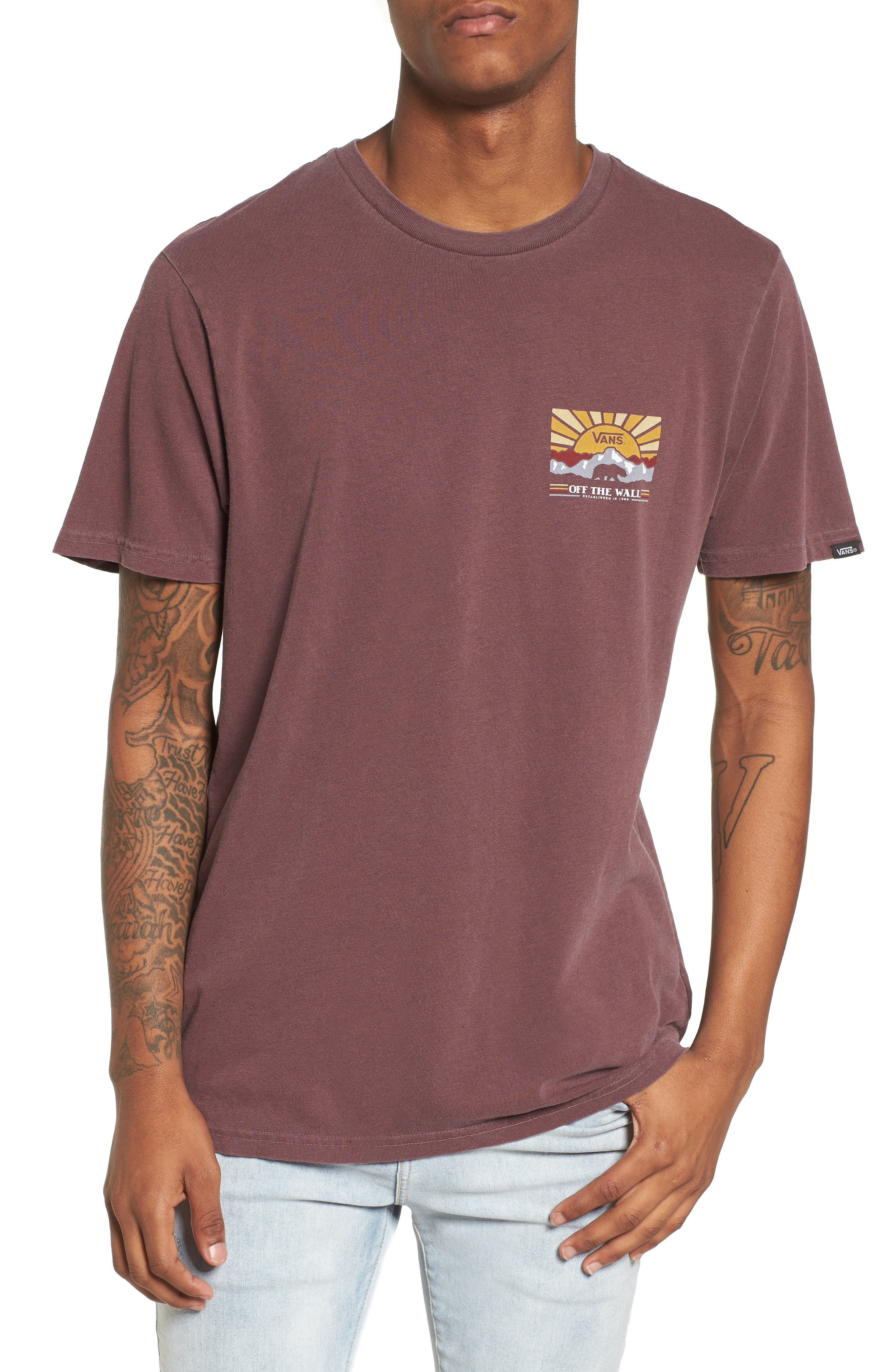 Grizzly Mountain Graphic T-Shirt,                         Main,                         color, Port Royale