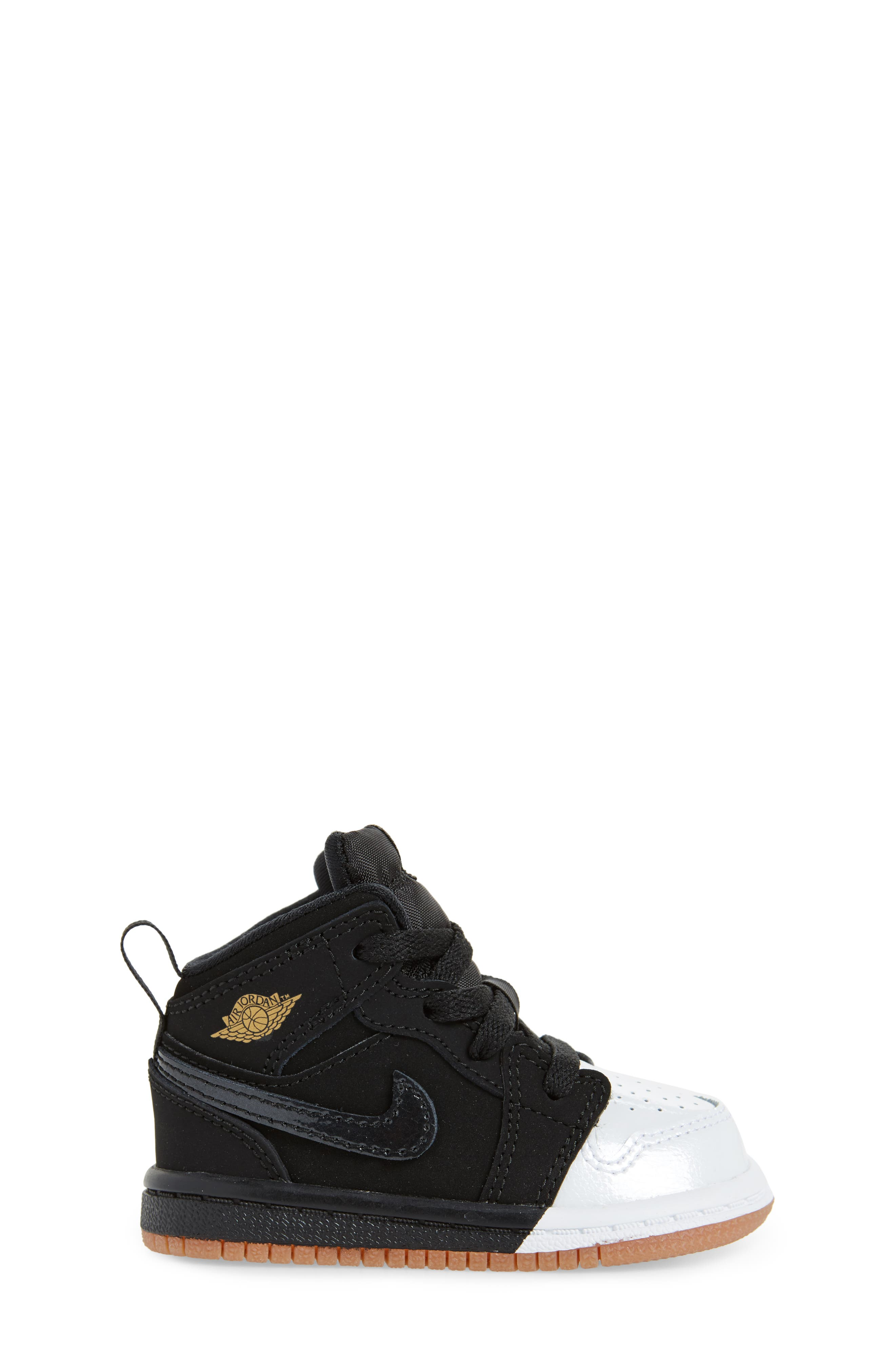 Alternate Image 3  - Nike 'Jordan 1 Mid' Basketball Shoe (Walker)