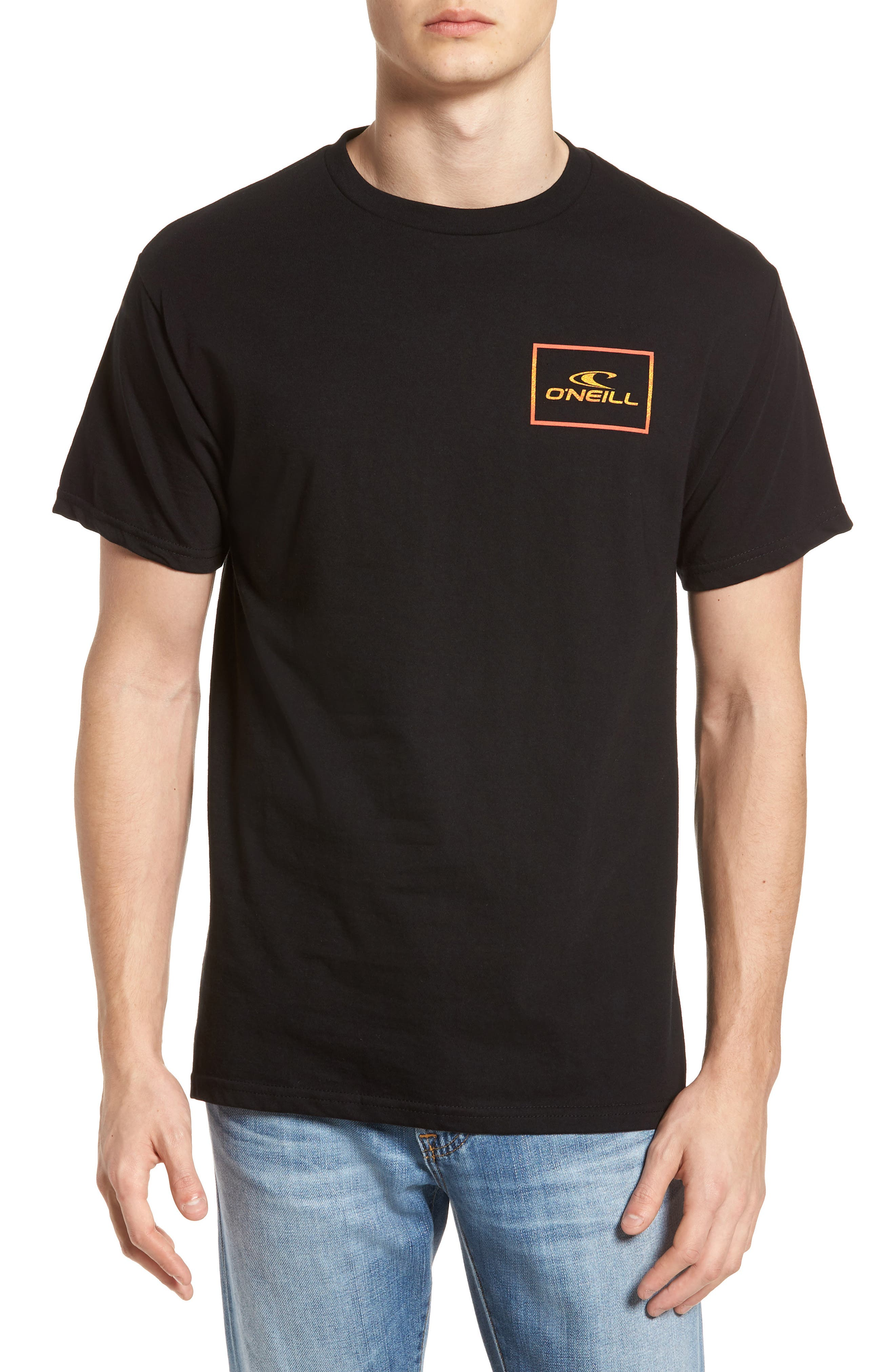 Square Root Graphic T-Shirt,                         Main,                         color, Black