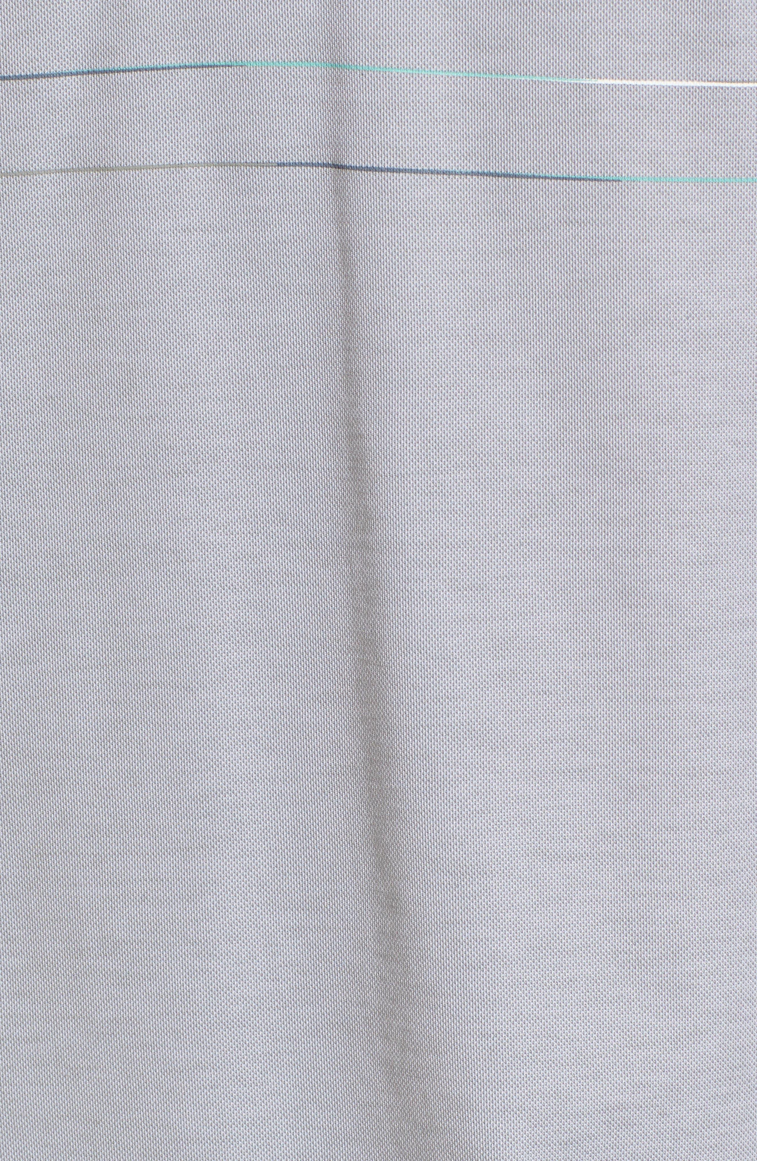 Good Good Polo Shirt,                             Alternate thumbnail 5, color,                             Heather Grey Monument