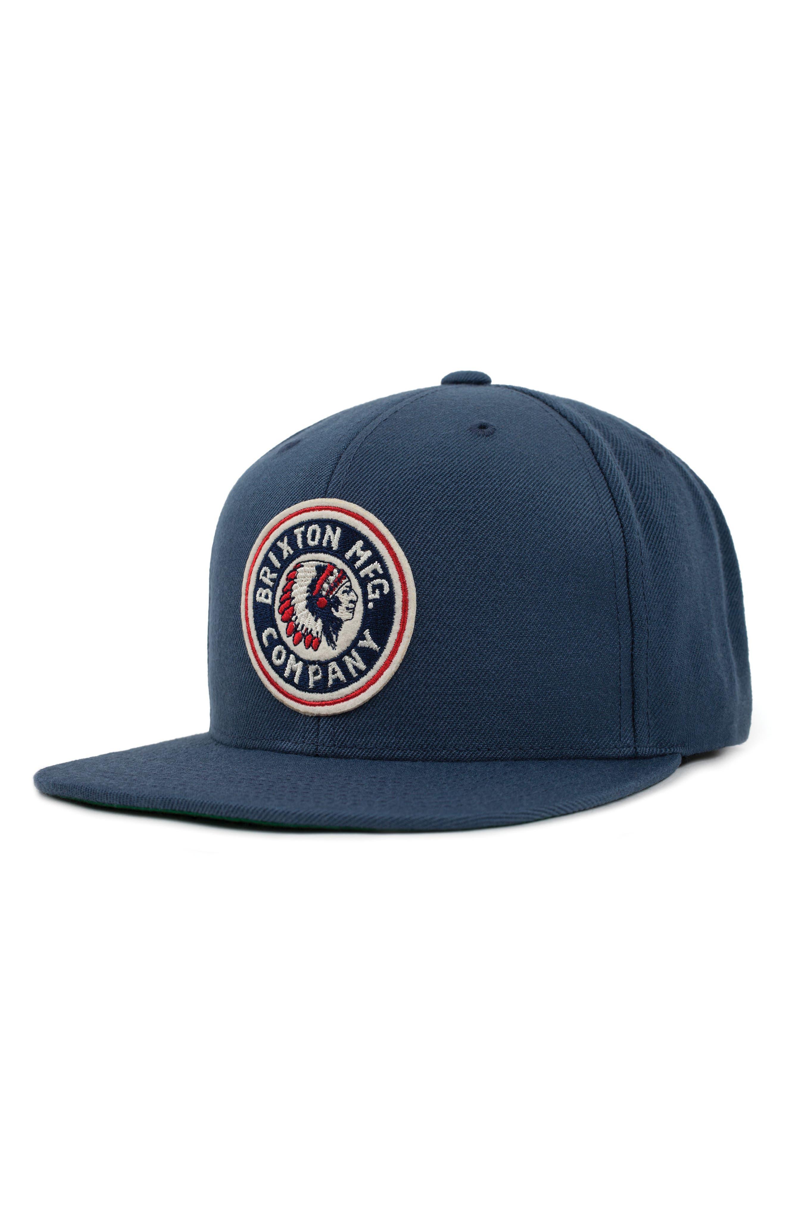 'Rival' Snapback Cap,                         Main,                         color, Ocean