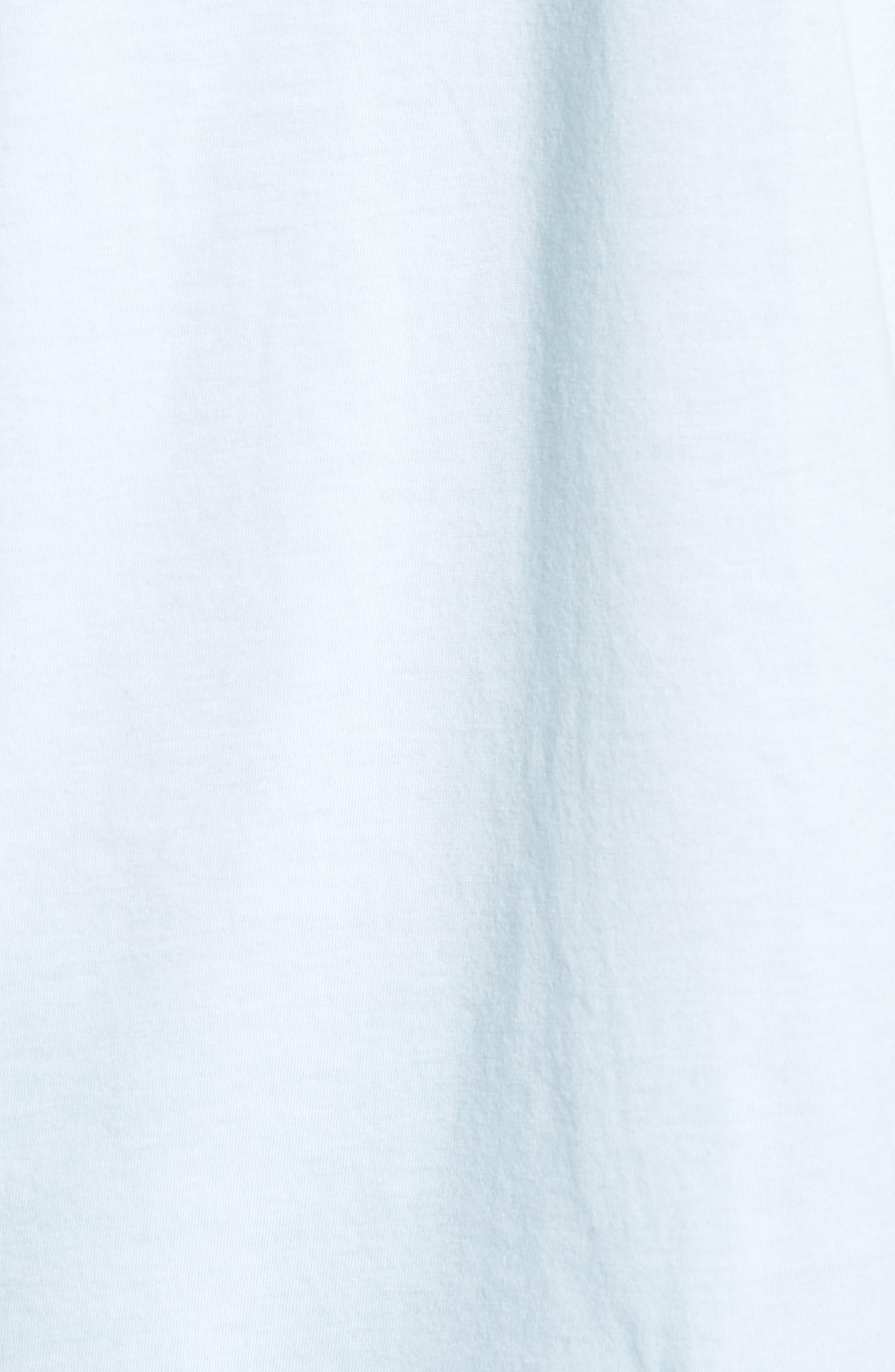 Tide Graphic T-Shirt,                             Alternate thumbnail 5, color,                             Light Blue Heather