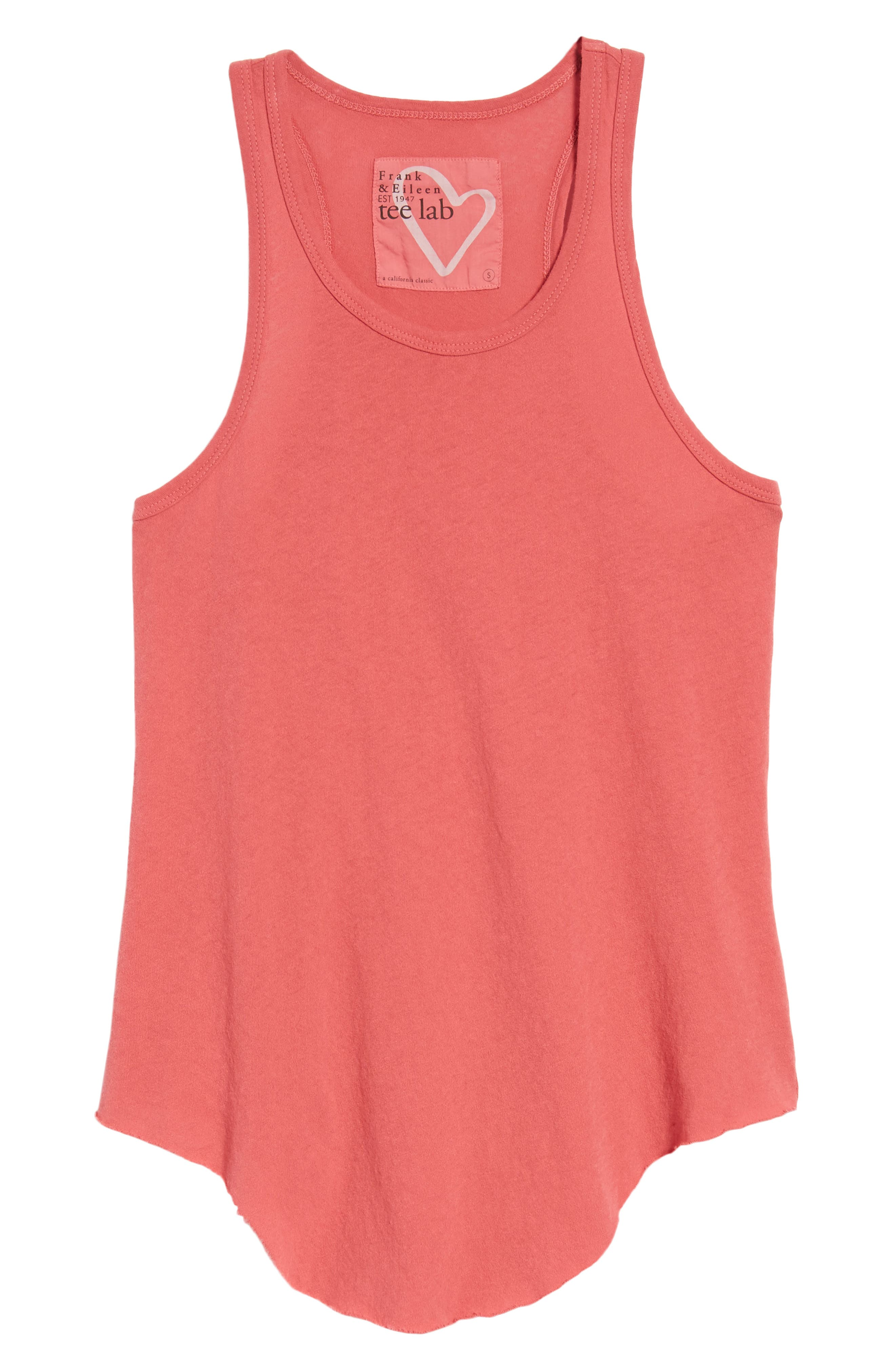 Layer Tank,                             Alternate thumbnail 6, color,                             Vintage Red