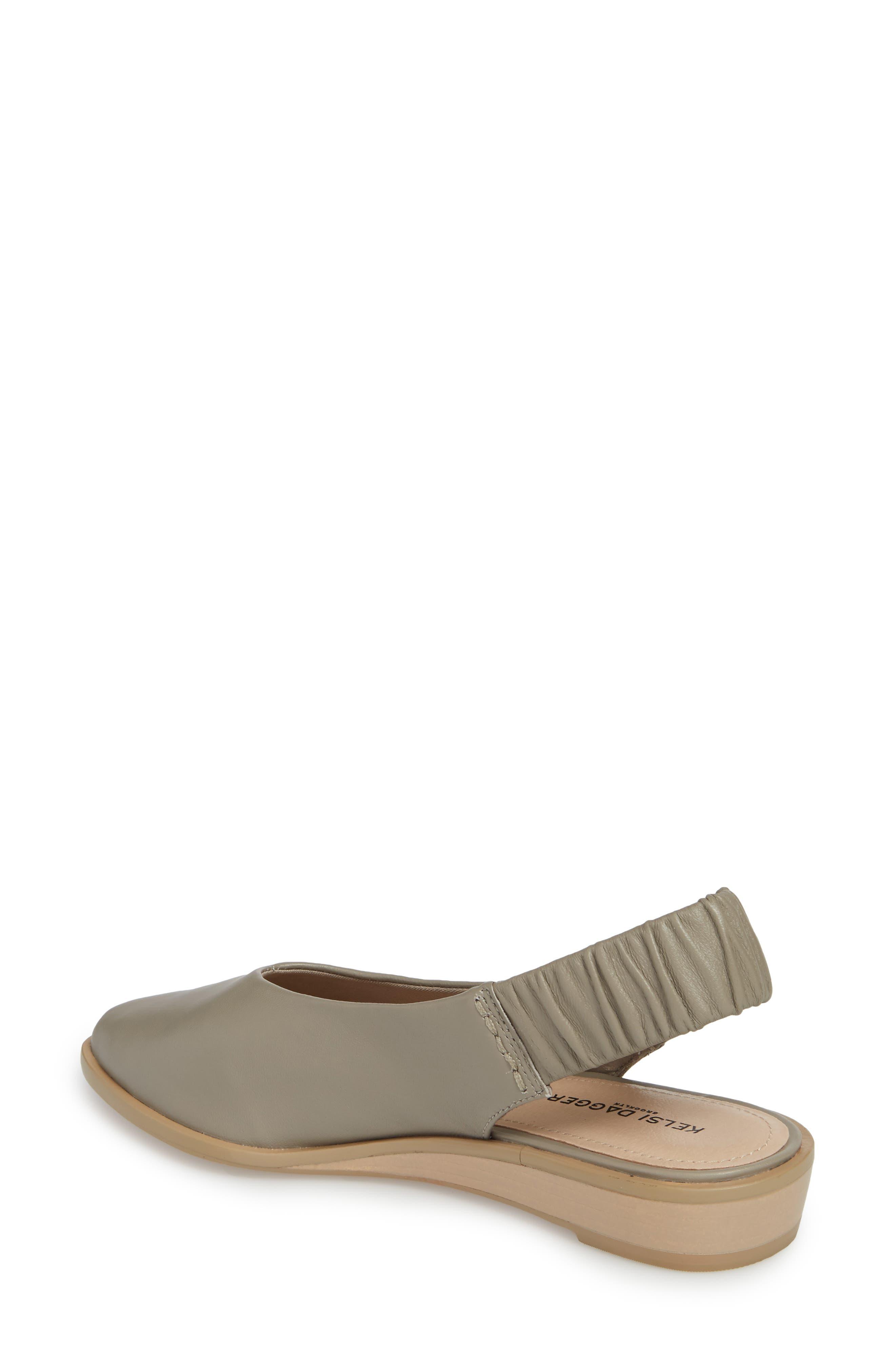 Alton Slingback Sandal,                             Alternate thumbnail 2, color,                             Clove Leather