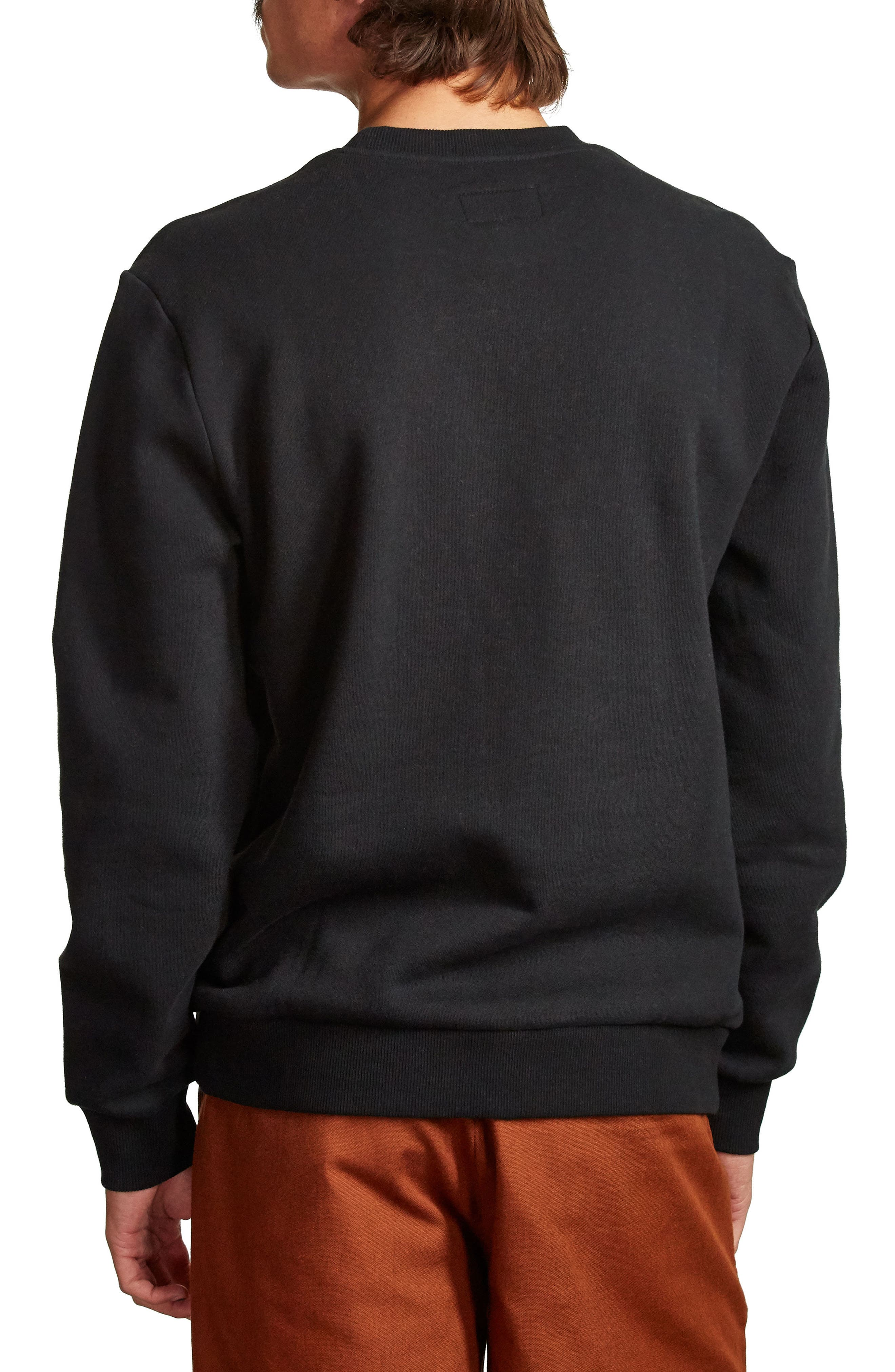 Stonewell Sweatshirt,                             Alternate thumbnail 2, color,                             Black