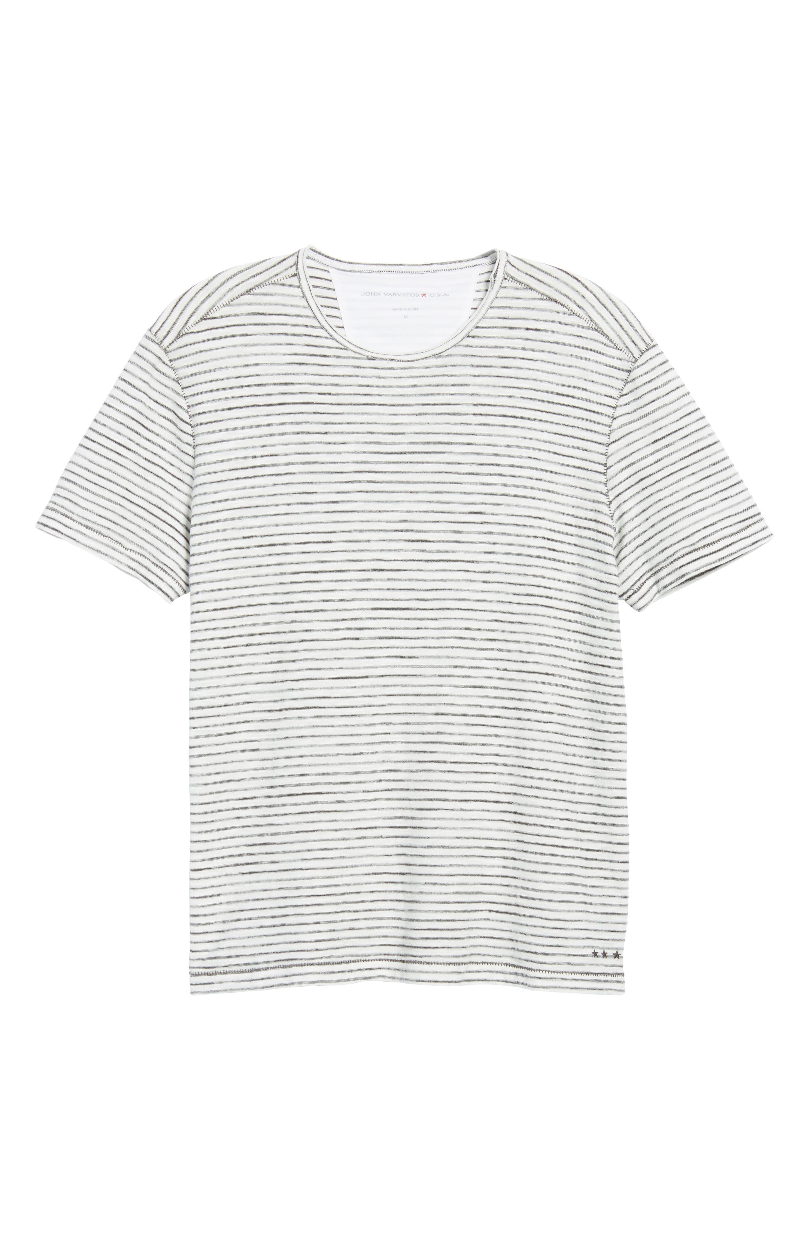 Slim Fit T-Shirt,                             Alternate thumbnail 6, color,                             White