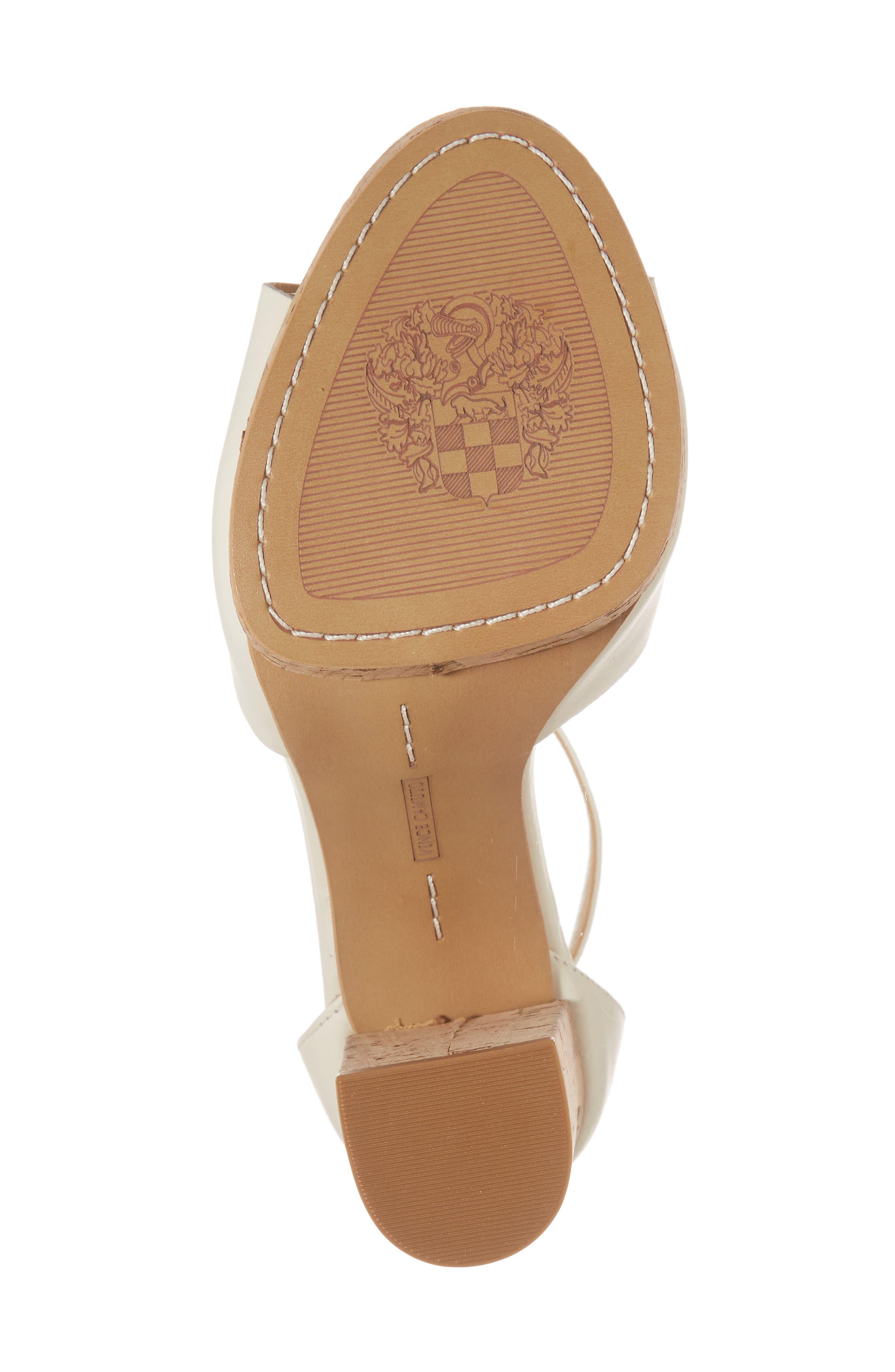 Ciestie Platform Sandal,                             Alternate thumbnail 6, color,                             Vanilla Leather