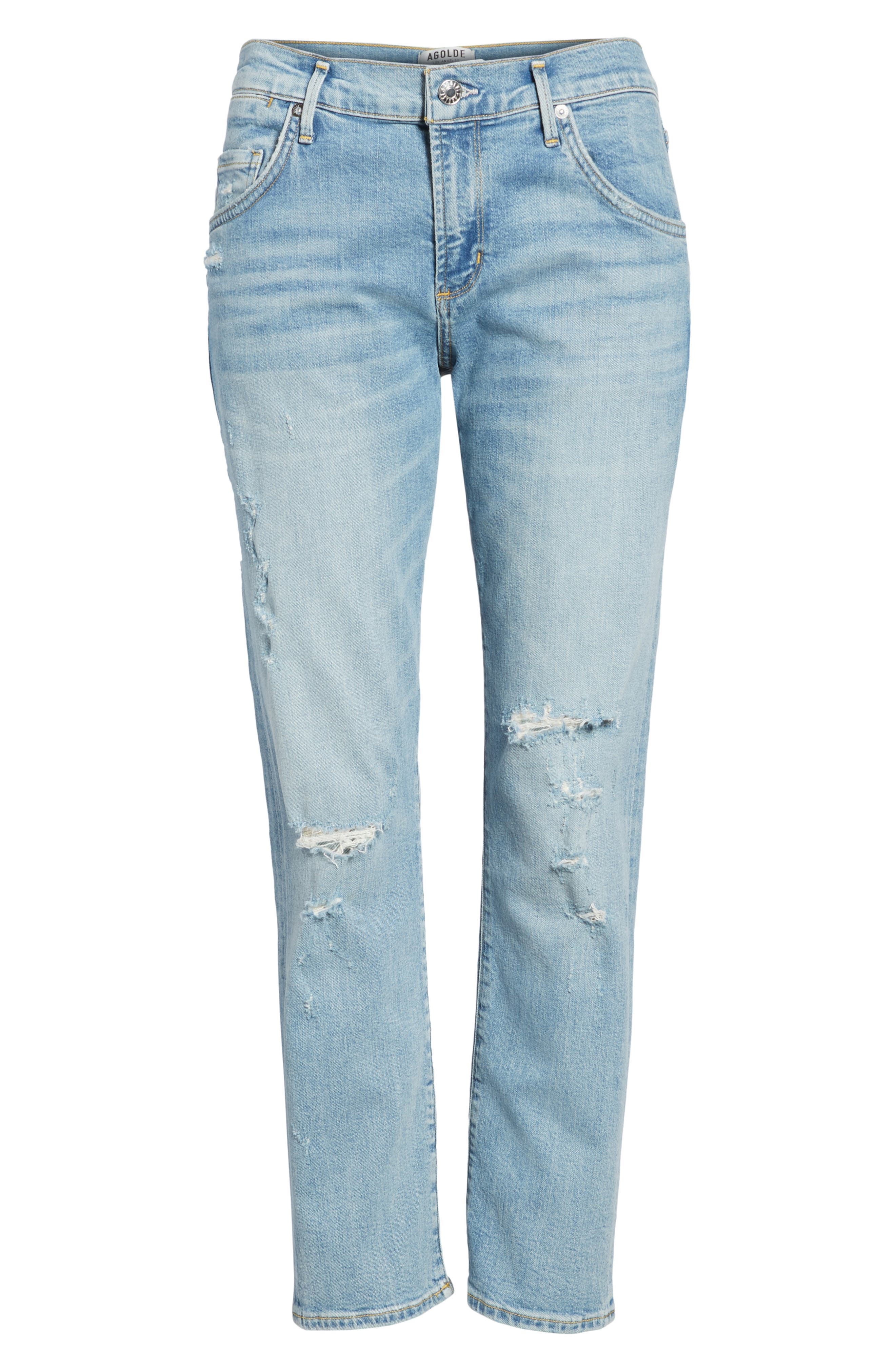 Isabel Ankle Slim Boyfriend Jeans,                             Alternate thumbnail 7, color,                             Dreamer
