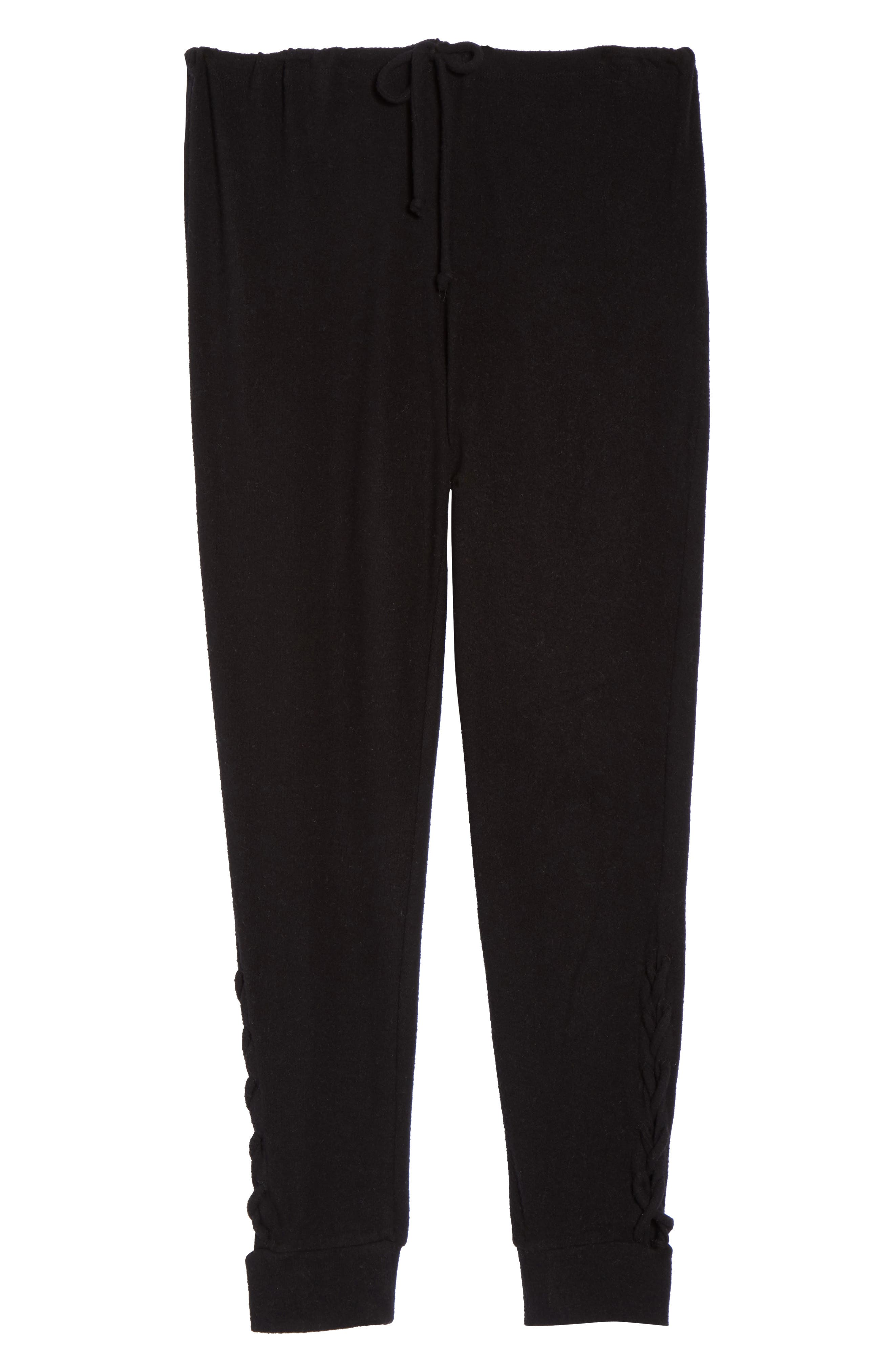 Love Sweatpants,                             Alternate thumbnail 6, color,                             True Black