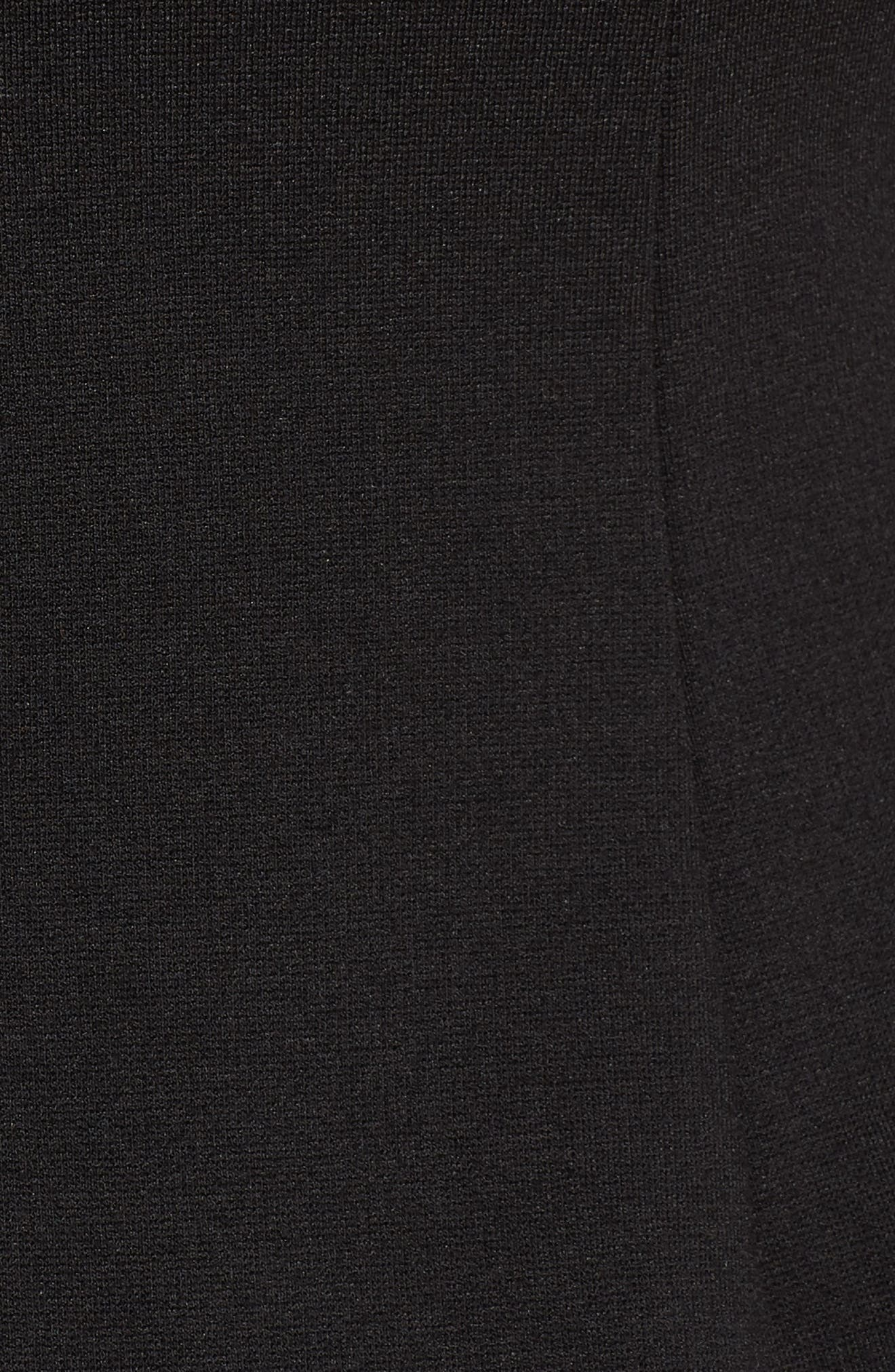 Body-Con Dress,                             Alternate thumbnail 5, color,                             Black